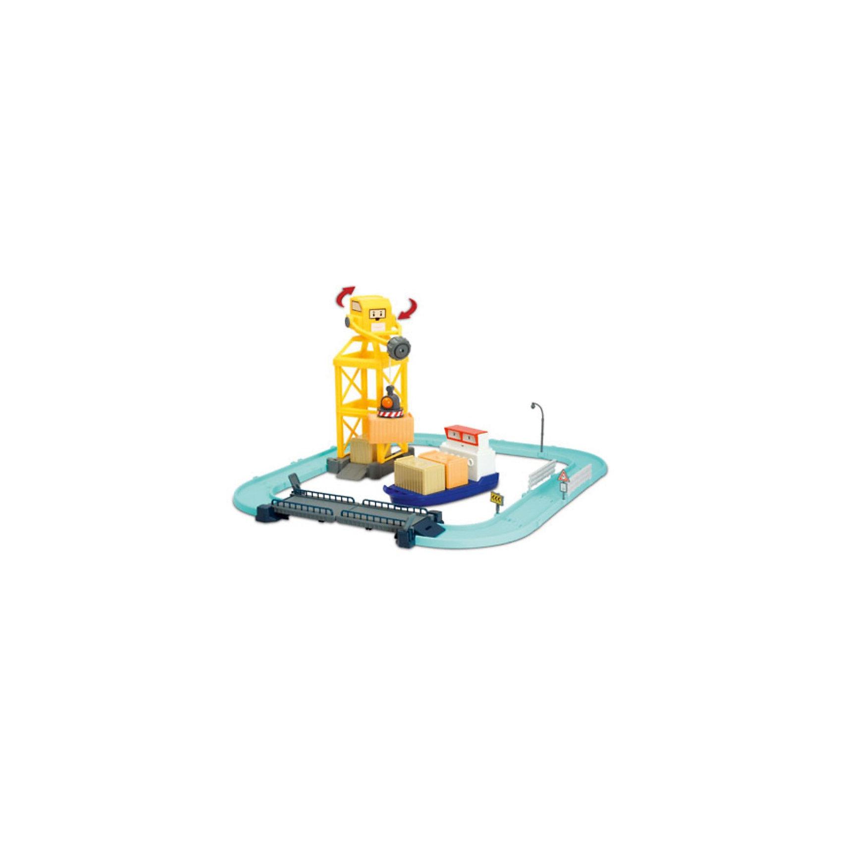Игровой набор «Порт с разводным мостом», Робокар ПолиИгровые наборы<br>Порт с разводным мостом, Робокар Поли - увлекательный игровой набор, который обязательно понравится всем юным поклонникам мультсериала Робокар Поли (Robocar Poli).<br>Спасательная команда служебных машинок всегда готова прийти на помощь жителям городка Брумстаун и выручить в любой ситуации. В комплекте Вы найдете детали городского порта с разводным мостом и металлическую фигурку контейнеровоза Терри.<br><br>В центральной части порта расположилась стоянка грузовых кораблей, портовый кран с вращающейся кабиной переносит грузы на корабль, а контейнеровоз Терри по специальной дорожке доставляет грузы в порт. Разведя мост, можно будет вывести кораблик из порта и направить в пункт назначения. Набор совместим с другими наборами серии Робокар Поли. Все детали имеют скругленные углы и безопасны для детей.<br><br>Дополнительная информация:<br><br>- В комплекте: порт с раздвижным мостом, машинка Терри. <br>- Материал: пластик, металл.<br>- Размер машинки Терри: 12 см.<br>- Размер упаковки: 10 x 30 x 25 см.<br>- Вес: 0,85 кг.<br><br>Игровой набор Порт с разводным мостом, Робокар Поли можно купить в нашем интернет-магазине.<br><br>Ширина мм: 430<br>Глубина мм: 160<br>Высота мм: 310<br>Вес г: 1628<br>Возраст от месяцев: 36<br>Возраст до месяцев: 84<br>Пол: Мужской<br>Возраст: Детский<br>SKU: 3827052