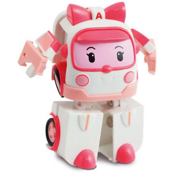 Игрушка Эмбер трансформер, 7,5 см,  Робокар ПолиИгрушки<br>Игрушка Эмбер трансформер, Robocar Poli станет замечательным подарком для всех юных поклонников мультсериала Робокар Поли и его друзья (Robocar Poli).<br>Спасательная команда служебных машинок всегда готова прийти на помощь жителям городка Брумстаун и выручить в любой ситуации. Эмбер - автомобиль скорой помощи, она отвечает за поддержку спасательных операций и оказывает первую помощь транспортным средствам и героям, попавшим в аварию.<br><br>Внешний вид нежно-розовой машинки полностью соответствует своей героине из  мультфильма. Игрушка 2 в 1 имеет компактный миниатюрный размер и легко трансформируется в робота с подвижными деталями, благодаря чему игрушку можно использовать сразу в двух качествах - как небольшую машинку или как робота. Совместима со всеми игровыми наборами Robocar Poli.<br><br>Дополнительная информация:<br><br>- Материал: пластик.<br>- Высота игрушки: 7,5 см.<br>- Длина машинки: 6 см.<br>- Размер упаковки: 11 x 14 x 8 см.<br>- Вес: 0,14 кг.<br><br>Игрушку  Эмбер трансформер, 7,5 см,  Робокар Поли можно купить в нашем интернет-магазине.<br>Ширина мм: 135; Глубина мм: 100; Высота мм: 80; Вес г: 134; Возраст от месяцев: 36; Возраст до месяцев: 84; Пол: Женский; Возраст: Детский; SKU: 3827053;