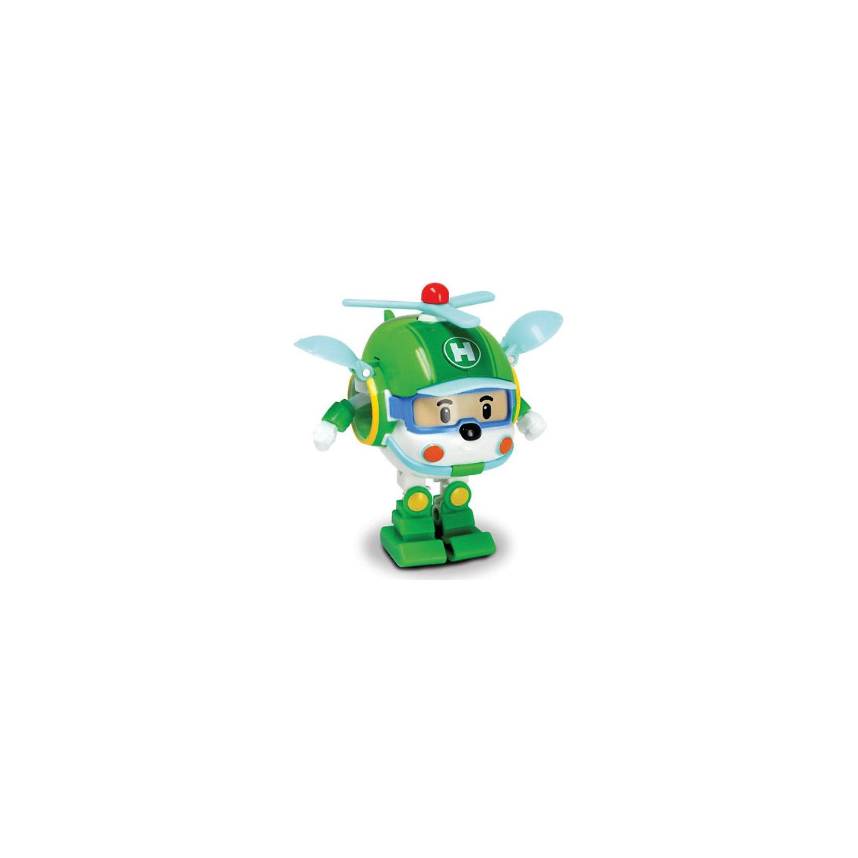Silverlit Игрушка Хэли трансформер, 7,5 см,  Робокар Поли