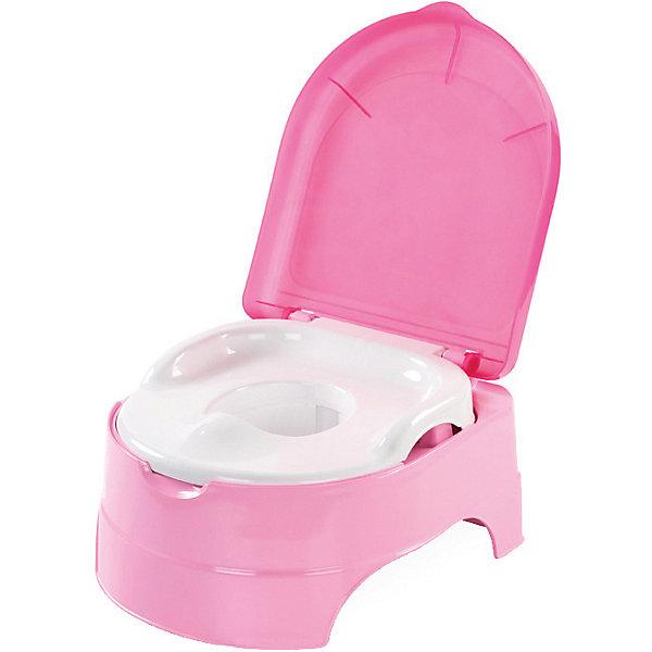 Горшок-подножка 2 в 1, Summer Infant, розовый
