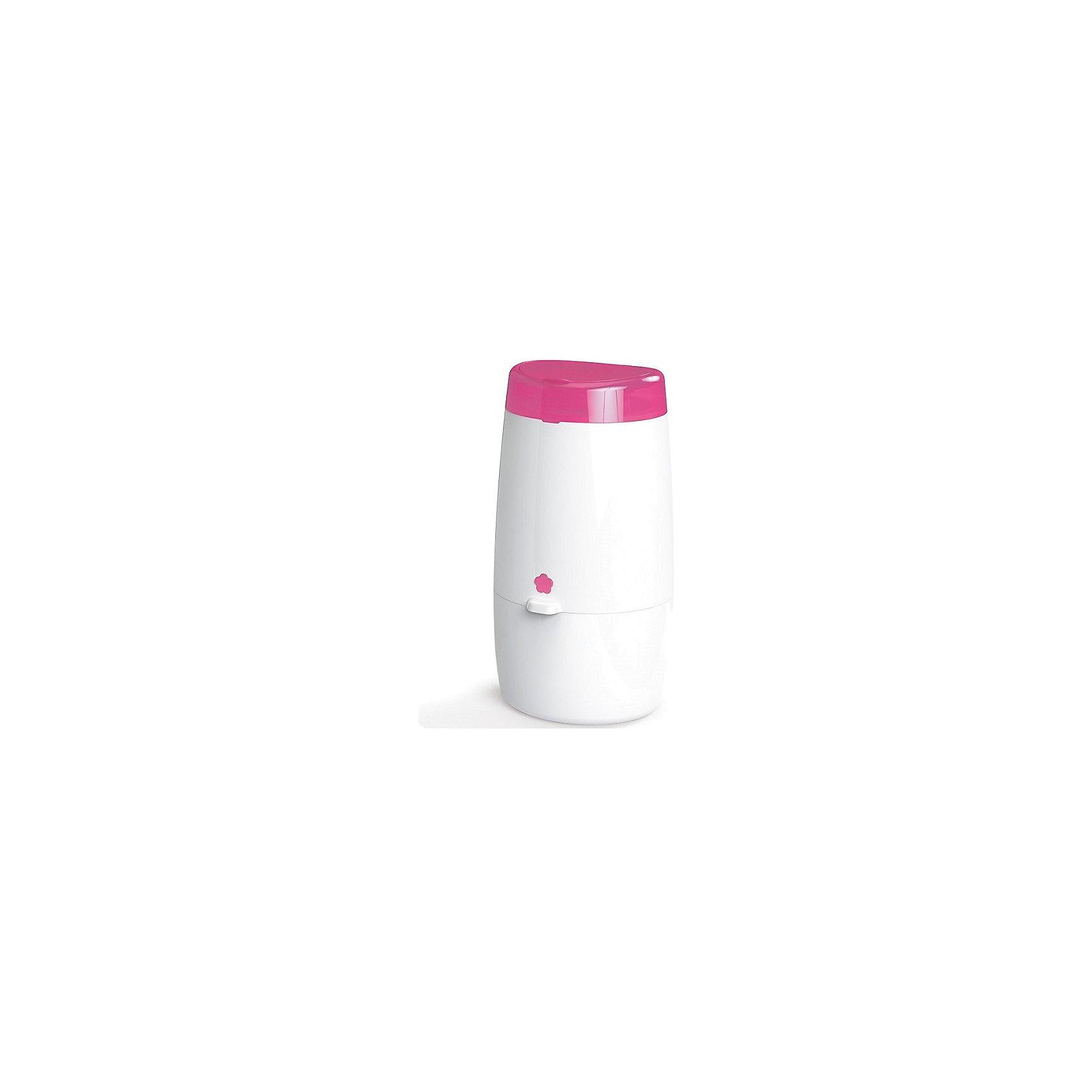 Накопитель подгузников AD-MINI-EU-PK  Angelcare Mini, розовыйУтилизаторы подгузников<br>Накопитель подгузников AD-MINI-EU-PK  Angelcare Mini, розовый<br><br>Характеристики:<br>- В набор входит: накопитель, 1 кассета<br>- Материал: пластик, полиэтилен<br>- Высота: 43 см. <br>- Вместительность: 32 подгузника  р-р 2 <br>Накопитель подгузников от известного канадского бренда продуктов по уходу за детьми AngelCare (ЭнджелКеа) позволит утилизировать подгузники без единого запаха, обеспечить необходимую гигиену комнаты и значительно упростить уход за малышом. Компактный формат накопителя позволяет разместить его в любом удобном месте, а лаконичный дизайн подойдет к интерьеру детской. Накопитель вмещает 32 подгузника второго размера и подразумевает замену пакета один раз в неделю. К накопителю подойдут любые кассеты фирмы AngelCare (ЭнджелКеа). Каждая кассета состоит из безопасного многослойного полиэтиленового материала, и вмещает 128 подгузников размера 2 (приблизительно 28 дней). При смене кассеты не придется контактировать с уже имеющимися в накопителе подгузниками в виду их герметичной упаковки. AngelCare используют в четыре раза меньше пластика чем обычные накопители, за счет того, что подгузники не упаковываются в индивидуальные пакеты, поэтому выбрав эту марку вы проявите заботу о малыше и об окружающей его среде.<br>Накопитель подгузников AD-MINI-EU-PK Angelcare Mini (ЭнджелКеа Мини), розовый можно купить в нашем интернет-магазине.<br>Подробнее:<br>• Для детей в возрасте: от 0 месяцев <br>• Номер товара: 3827604<br>Страна производитель: Франция<br><br>Ширина мм: 230<br>Глубина мм: 230<br>Высота мм: 580<br>Вес г: 2200<br>Возраст от месяцев: 0<br>Возраст до месяцев: 36<br>Пол: Унисекс<br>Возраст: Детский<br>SKU: 3827604