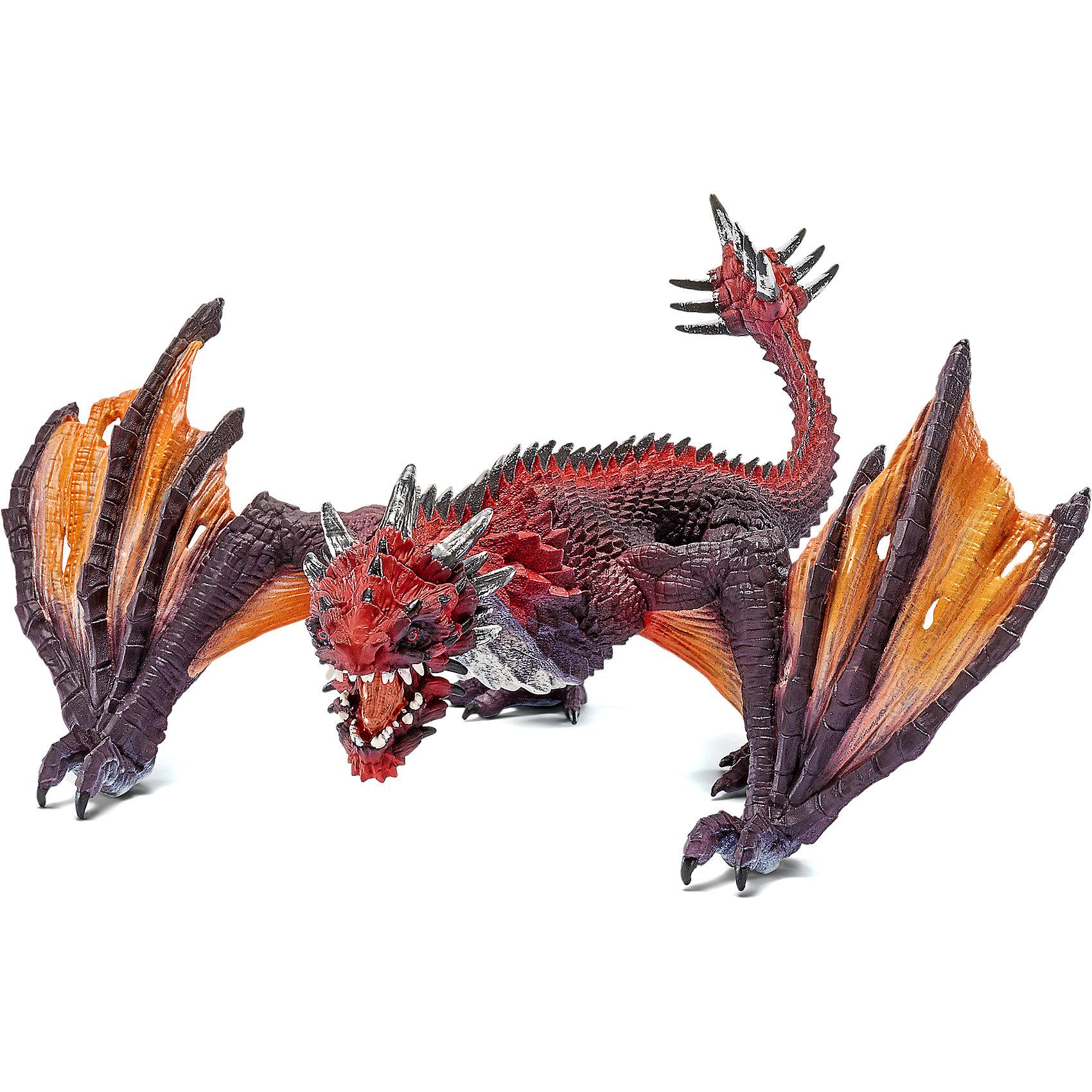 Дракон Боец, SchleichДраконы и динозавры<br>Дракон Боец, Schleich (Шляйх) – это высококачественная игровая фигурка.<br>Дракон Боец из серии Рыцари от Schleich (Шляйх) - восхитительная фигурка дракона, которая сделает игры с рыцарями и воинами еще увлекательнее. Дракон Боец самый дикий и самый сильный из всех драконов. Его невероятная сила может привести к ужасным разрушениям. Боевой дракон всегда голоден и ест всё, что попадается на его пути. У дракона могучие лапы, хвост с гигантским шипованным наростом на конце. Фигурка дракона выполнена в оранжевом и коричневом цветах. <br>Прекрасно выполненные фигурки Schleich (Шляйх) отличаются высочайшим качеством игрушек ручной работы. Каждая фигурка разработана с учетом исследований в области педагогики и производится как настоящее произведение для маленьких детских ручек. Все фигурки Schleich (Шляйх) сделаны из гипоаллергенных высокотехнологичных материалов, раскрашены вручную и не вызывают аллергии у ребенка.<br><br>Дополнительная информация:<br><br>- Размер фигурки: 21 х 19,5 х 9 см.<br>- Материал: высококачественный каучуковый пластик<br><br>Фигурку Дракон Боец, Schleich (Шляйх) можно купить в нашем интернет-магазине.<br><br>Ширина мм: 189<br>Глубина мм: 132<br>Высота мм: 101<br>Вес г: 153<br>Возраст от месяцев: 36<br>Возраст до месяцев: 96<br>Пол: Мужской<br>Возраст: Детский<br>SKU: 3829727