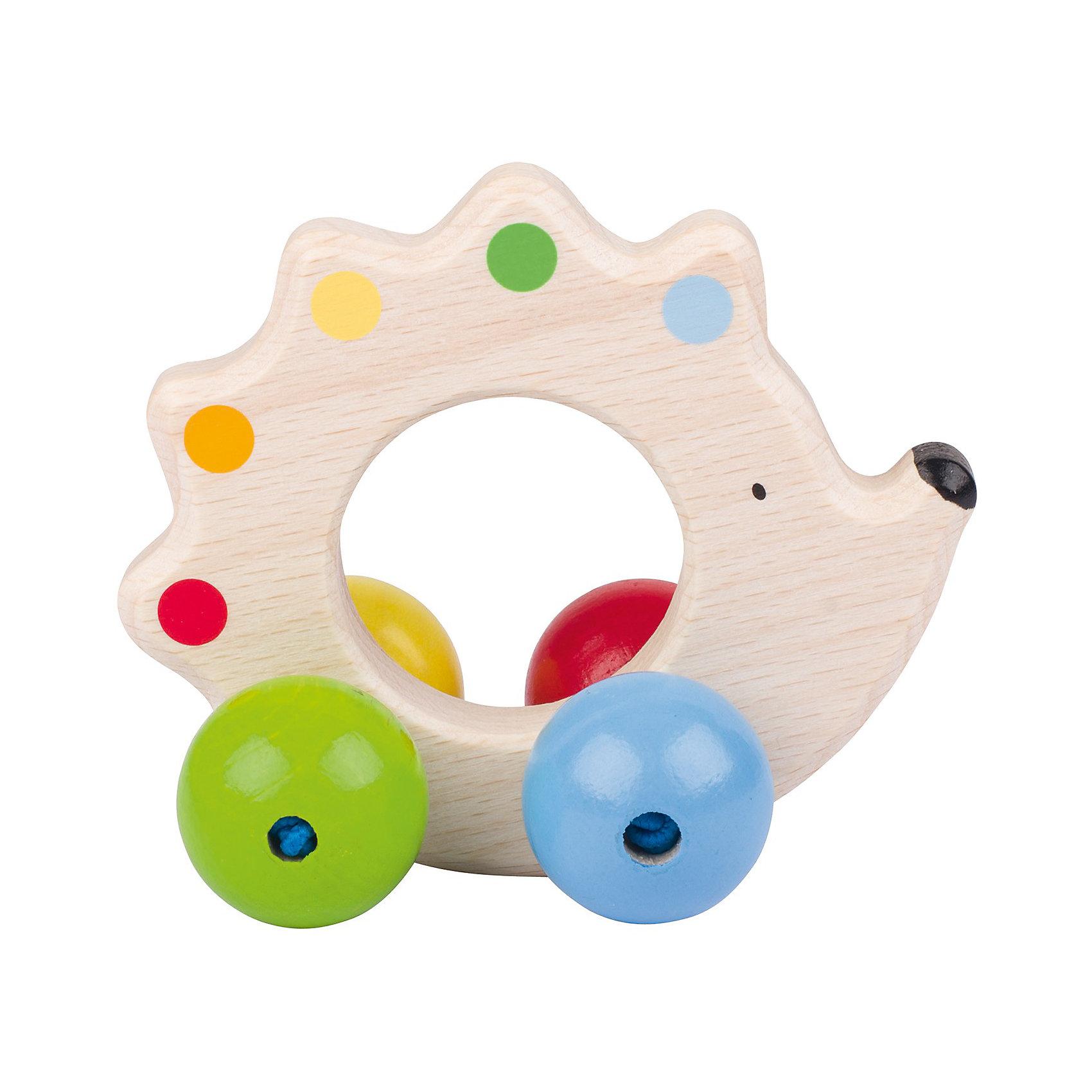 Игрушка Ёжик с бусинками HEIMESSПрекрасная развивающая игрушка для малышей. Вашему малышу обязательно понравится маленький ежик с яркими разноцветными бусинками. Бусинки- колесики приятны на ощупь, двигаются, размер ёжика соответствует детской ручке. Игрушка выполнена из высококачественных материалов, раскрашена нетоксичной краской.<br><br>Дополнительная информация:<br><br>- Материал: дерево<br>- Цвет: белый, голубой, желтый, зеленый, розовый.<br>- Размер: 11 см<br><br>Игрушку Ёжик с бусинками HEIMESS можно купить в нашем магазине.<br><br>Ширина мм: 170<br>Глубина мм: 152<br>Высота мм: 63<br>Вес г: 75<br>Возраст от месяцев: 3<br>Возраст до месяцев: 10<br>Пол: Унисекс<br>Возраст: Детский<br>SKU: 3830728