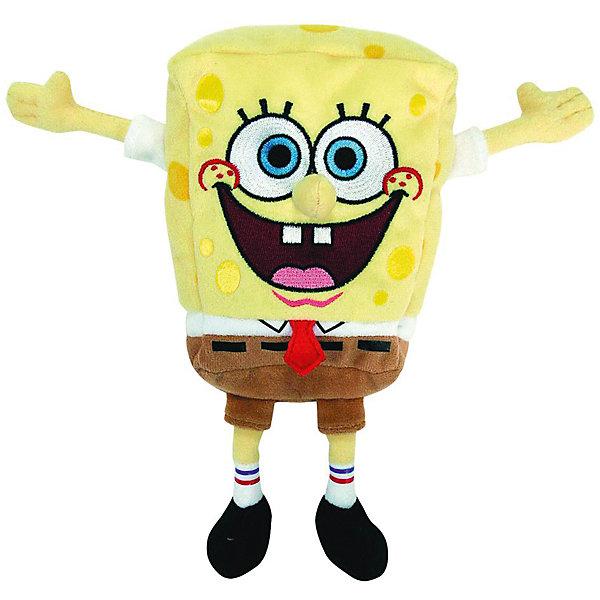Игрушка Spongebob, 20 смМягкие игрушки животные<br>Губка Боб, Beanie Baby  - забавная мягкая игрушка, которая порадует всех поклонников популярного мультсериала Губка Боб (Spongebob). Внешний вид игрушка полностью повторяет свой персонаж из мультфильма  Губка Боб выполнен из мягкого, приятного на ощупь материала. Гипоаллергенная ткань совершенно безопасна для детей. <br><br>Дополнительная информация:<br><br>- Материал: текстиль.<br>- Размер игрушки: 20 см.<br>- Размер упаковки: 10 х 13 х 20 см.<br>- Вес: 0,15 кг. <br><br>Мягкую игрушку Губка Боб, Beanie Baby можно купить в нашем интернет-магазине.<br>Ширина мм: 150; Глубина мм: 116; Высота мм: 73; Вес г: 79; Возраст от месяцев: 0; Возраст до месяцев: 96; Пол: Мужской; Возраст: Детский; SKU: 3833920;