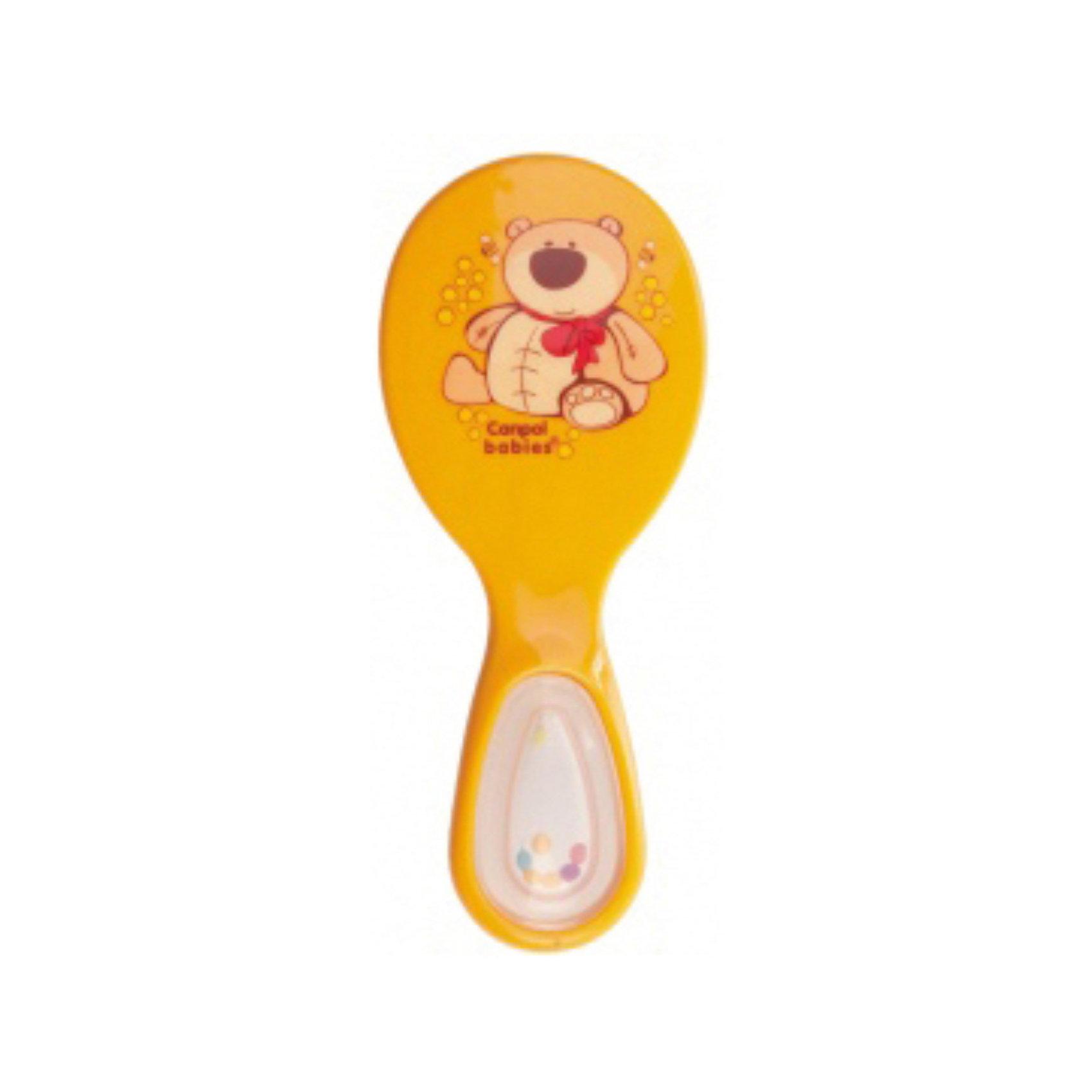 Щётка и расческа, Canpol Babies, оранжевый