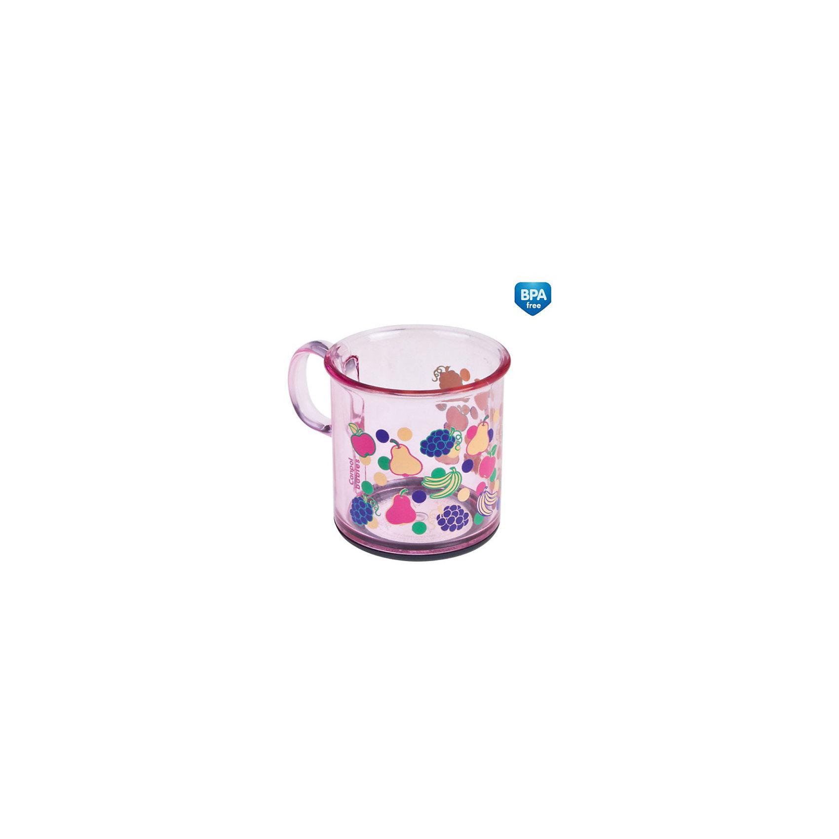 Кружка с антискользящим дном, 170 мл., Canpol Babies, розовыйПосуда для малышей<br>Кружка с антискользящим дном, 170 мл., Canpol Babies предназначена для детей старшего возраста. Удобная ручка позволяет малышу легко держать кружку. Антискользящее дно защищает кружку от опрокидывания.<br>Дополнительная информация:<br>- Объем: 170 мл.;<br>- Материал: пластик (не содержит Бисфенол А);<br><br>Кружку с антискользящим дном Canpol Babies, 170 мл. можно купить в нашем интернет-магазине.<br><br>Ширина мм: 75<br>Глубина мм: 66<br>Высота мм: 92<br>Вес г: 71<br>Цвет: розовый<br>Возраст от месяцев: 12<br>Возраст до месяцев: 48<br>Пол: Женский<br>Возраст: Детский<br>SKU: 3837126