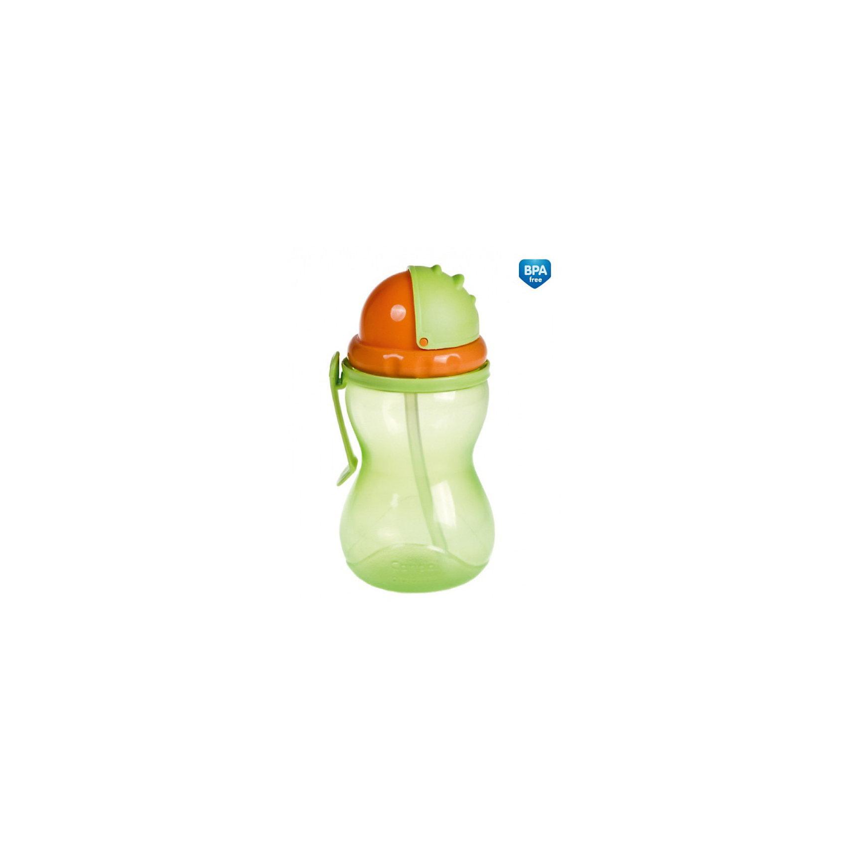 Поильник Canpol Babies, 370 мл, зеленыйПрактичный яркий спортивный поильник с трубочкой предназначен для детей старше 1 года, которые могут пить самостоятельно. Идеально подходит для поездок и прогулок. Специальная эргономичная форма позволяет малышу легко держать поильник. Двигающаяся крышка защищает трубочку, когда поильник не используется.<br>Объем: 370 мл.<br>Поильник Canpol Babies, от 12 мес., 370 мл. можно купить в нашем интернет-магазине.<br><br>Ширина мм: 240<br>Глубина мм: 80<br>Высота мм: 122<br>Вес г: 90<br>Возраст от месяцев: 12<br>Возраст до месяцев: 48<br>Пол: Унисекс<br>Возраст: Детский<br>SKU: 3837127