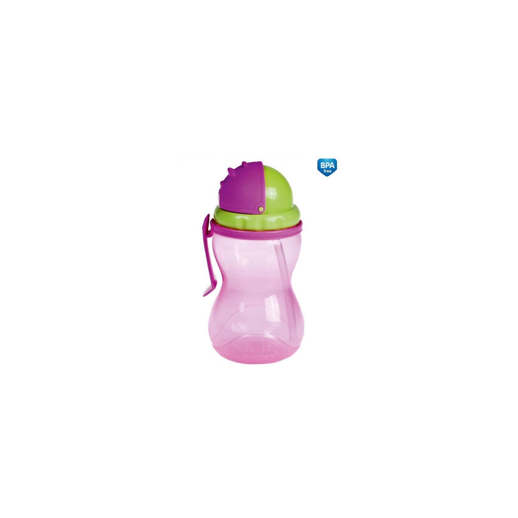 Поильник Canpol Babies, 370 мл, розовый от myToys