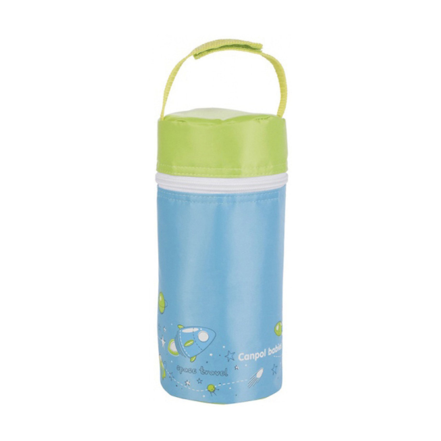 Термоупаковка для 1-ой бутылочки Мужская коллекция, Canpol Babies, голубой/зеленыйТермоупаковка  разработана на основе последних тенденций дизайна детства, для маленьких преданных автомобилистов. <br>Термоупаковка создана для хранения охлажденного напитка или теплой молочной смеси в бутылочке. Поэтому является необходимым аксессуаром во время поездок или прогулок.<br>Описание:<br>- внешняя поверхность термоупаковки сделана из долговечного, нетоксичного и легко моющегося материала;<br>-внутри заполнена термоизолирующей пленкой, которая замедляет процесс охлаждения/нагревания питания;<br>- в зависимости от первоначальной температуры пищи и погодных условий может поддерживать температуру в течение 3-х часов (не заменяет термос). <br>- благодаря отстегивающейся ручке, термоупаковку удобно носить с собой и пристегивать к ручке коляски. Подходит для всех типов бутылочек.<br>Термоупаковку для 1-ой бутылочки Canpol Babies можно купить в нашем интернет-магазине.<br><br>Ширина мм: 210<br>Глубина мм: 95<br>Высота мм: 95<br>Вес г: 89<br>Возраст от месяцев: 0<br>Возраст до месяцев: 48<br>Пол: Мужской<br>Возраст: Детский<br>SKU: 3837135