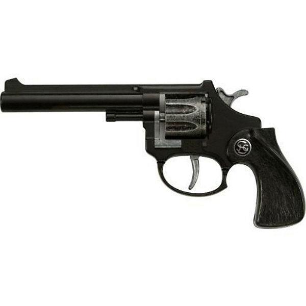 Пистолет  R 88,  SchrodelИгрушечные пистолеты и бластеры<br>Пистолет  R 88,  Schrodel (Шрёдел) – детский восьмизарядный пистолет изготовленный в натуральную величину из высококачественного материала.<br>Игрушечные револьверы от немецкой компании Schrodel (Шрёдел) — лучшие игрушки для военных и в схожих социально-ролевых играх мальчишек. Револьвер черного цвета с барабаном, вмещающим 8 пистонов, подарит вашему мальчику массу положительных и ярких эмоций. Игровой пистолет имеет непревзойденное качество исполнения и великолепную детализацию, что делает пистолет похожим на реальную модель. Игра с игрушечным оружием поможет вашему малышу развить координацию движений, ловкость, логическое мышление и воображение. Все игрушки компании Schrodel выполнены из нетоксичных и качественных материалов, безопасных для здоровья ребенка.<br><br>Дополнительная информация:<br><br>- Ёмкость магазина: 8 зарядов<br>- Пистоны приобретаются отдельно<br>- Цвет: черный<br>- Материал: металл и пластик<br>- Размер игрушки: 18 см.<br>- Обязательно ознакомьтесь с инструкцией и соблюдайте меры безопасности<br><br>Пистолет  R 88,  Schrodel (Шрёдел) можно купить в нашем интернет-магазине.<br><br>Ширина мм: 80<br>Глубина мм: 200<br>Высота мм: 30<br>Вес г: 90<br>Возраст от месяцев: 84<br>Возраст до месяцев: 168<br>Пол: Мужской<br>Возраст: Детский<br>SKU: 3838993