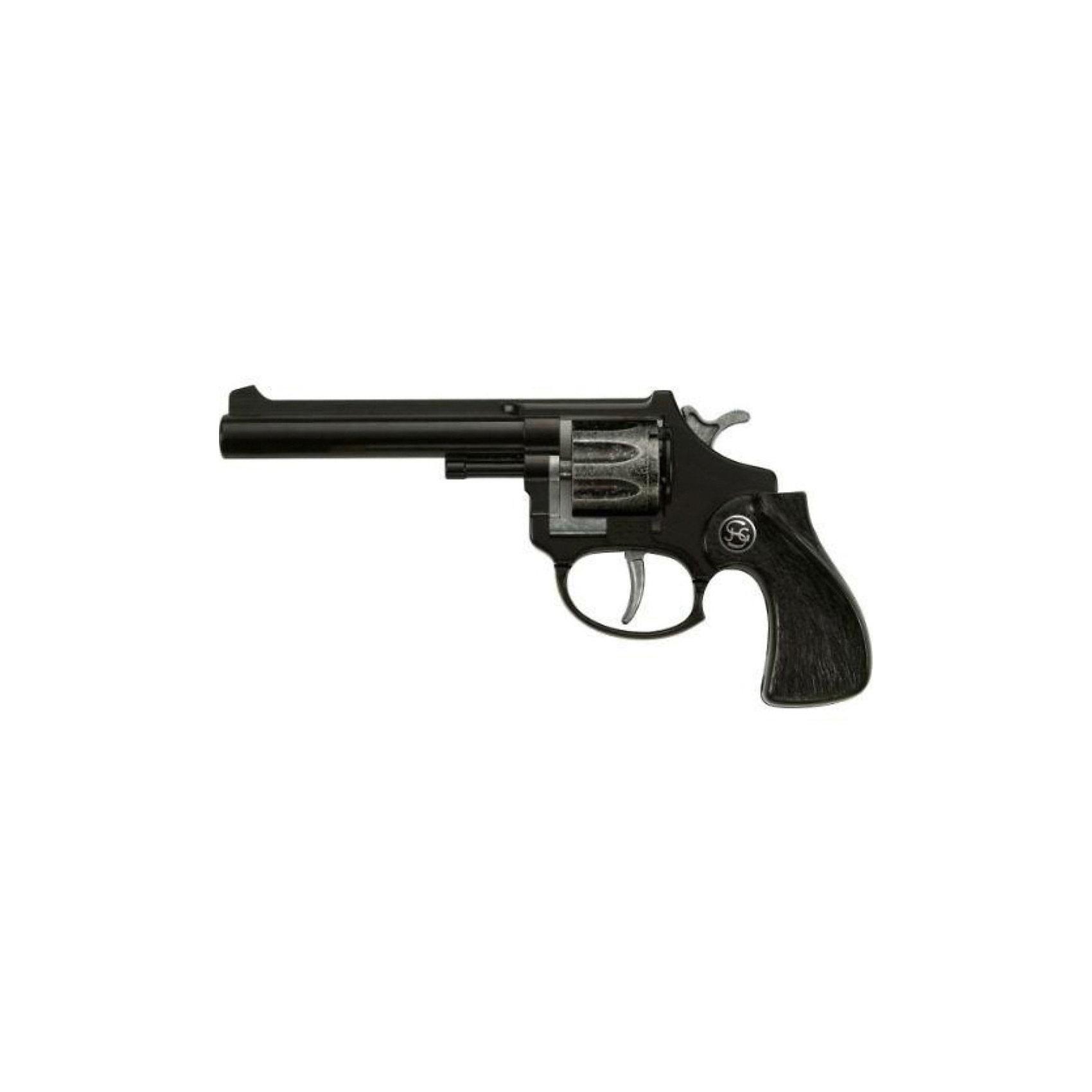 Пистолет  R 88,  SchrodelИгрушечное оружие<br>Пистолет  R 88,  Schrodel (Шрёдел) – детский восьмизарядный пистолет изготовленный в натуральную величину из высококачественного материала.<br>Игрушечные револьверы от немецкой компании Schrodel (Шрёдел) — лучшие игрушки для военных и в схожих социально-ролевых играх мальчишек. Револьвер черного цвета с барабаном, вмещающим 8 пистонов, подарит вашему мальчику массу положительных и ярких эмоций. Игровой пистолет имеет непревзойденное качество исполнения и великолепную детализацию, что делает пистолет похожим на реальную модель. Игра с игрушечным оружием поможет вашему малышу развить координацию движений, ловкость, логическое мышление и воображение. Все игрушки компании Schrodel выполнены из нетоксичных и качественных материалов, безопасных для здоровья ребенка.<br><br>Дополнительная информация:<br><br>- Ёмкость магазина: 8 зарядов<br>- Пистоны приобретаются отдельно<br>- Цвет: черный<br>- Материал: металл и пластик<br>- Размер игрушки: 18 см.<br>- Обязательно ознакомьтесь с инструкцией и соблюдайте меры безопасности<br><br>Пистолет  R 88,  Schrodel (Шрёдел) можно купить в нашем интернет-магазине.<br><br>Ширина мм: 80<br>Глубина мм: 200<br>Высота мм: 30<br>Вес г: 90<br>Возраст от месяцев: 84<br>Возраст до месяцев: 168<br>Пол: Мужской<br>Возраст: Детский<br>SKU: 3838993
