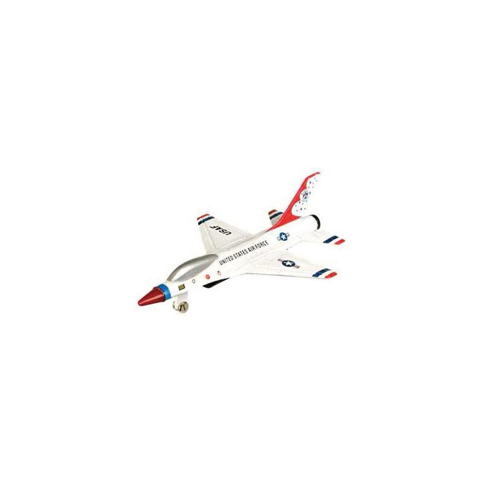 Самолет F-16,  MotormaxСамолет F-16,  Motormax (Мотормакс) – это отличное пополнение коллекции авиационной техники.<br>Коллекционная игрушка самолет F-16 от компании Motormax (Мотормакс) в точности повторяет контуры американского истребителя, который выпускается, по сей день, чем вызовет неподдельный интерес, как у ребенка, так и взрослого коллекционера. Модель максимально приближена к своему прототипу. По сути это уменьшенная копия настоящего самолета, сохранившая его пропорции и узнаваемые элементы. Стоит также отметить хорошую для таких размеров детализацию. Модель самолета изготовлена из прочного и качественного пластика, поэтому может использоваться и для обычной игры.<br><br>Дополнительная информация:<br><br>- Длина самолета: 9 см.<br>- Материал: пластик<br><br>Самолет F-16,  Motormax (Мотормакс) можно купить в нашем интернет-магазине.<br><br>Ширина мм: 127<br>Глубина мм: 30<br>Высота мм: 178<br>Вес г: 80<br>Возраст от месяцев: 36<br>Возраст до месяцев: 168<br>Пол: Мужской<br>Возраст: Детский<br>SKU: 3839008