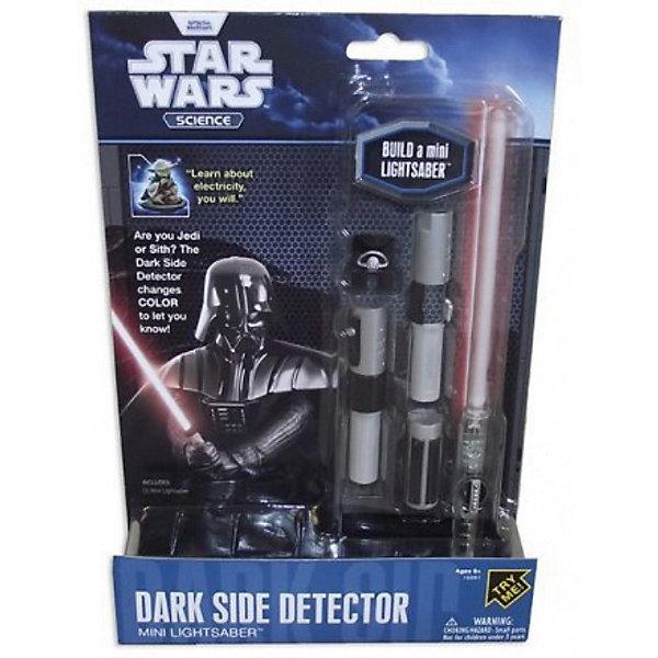 Мини-детектор Дарта Вейдера, Звёздные войныИгрушечное оружие<br>Мини-детектор Дарта Вейдера, Звёздные войны - это отличный подарок юному поклоннику саги.<br>Эта миниатюрная копия высокотехнологичного оружия — светового меча из саги «Звёздные войны». Анализируя малейшие колебания Силы, он способен определить, кто взял его в руки: благородный рыцарь света или коварный адепт тёмной стороны. В руках рыцаря-джедая клинок меча будет светиться синим светом, в руках адепта тёмной стороны — красным. Такая игрушка будет отличным подарком, как юному поклоннику саги, так и специалисту со стажем. Модель светового меча обладает невероятно высокой степенью детализации и, как две капли воды, похожа на оружие из фильма.<br><br>Дополнительная информация:<br><br>- В наборе: детали меча, 3 батарейки, инструкция<br>- Длина в собранном виде: 21,6 см.<br>- Материал: пластик<br>- Размер упаковки: 25,5 х 4 х 18 см.<br>- Вес: 154 гр.<br><br>Мини-детектор Дарта Вейдера, Звёздные войны можно купить в нашем интернет-магазине.<br><br>Ширина мм: 178<br>Глубина мм: 38<br>Высота мм: 254<br>Вес г: 140<br>Возраст от месяцев: 72<br>Возраст до месяцев: 144<br>Пол: Мужской<br>Возраст: Детский<br>SKU: 3841362