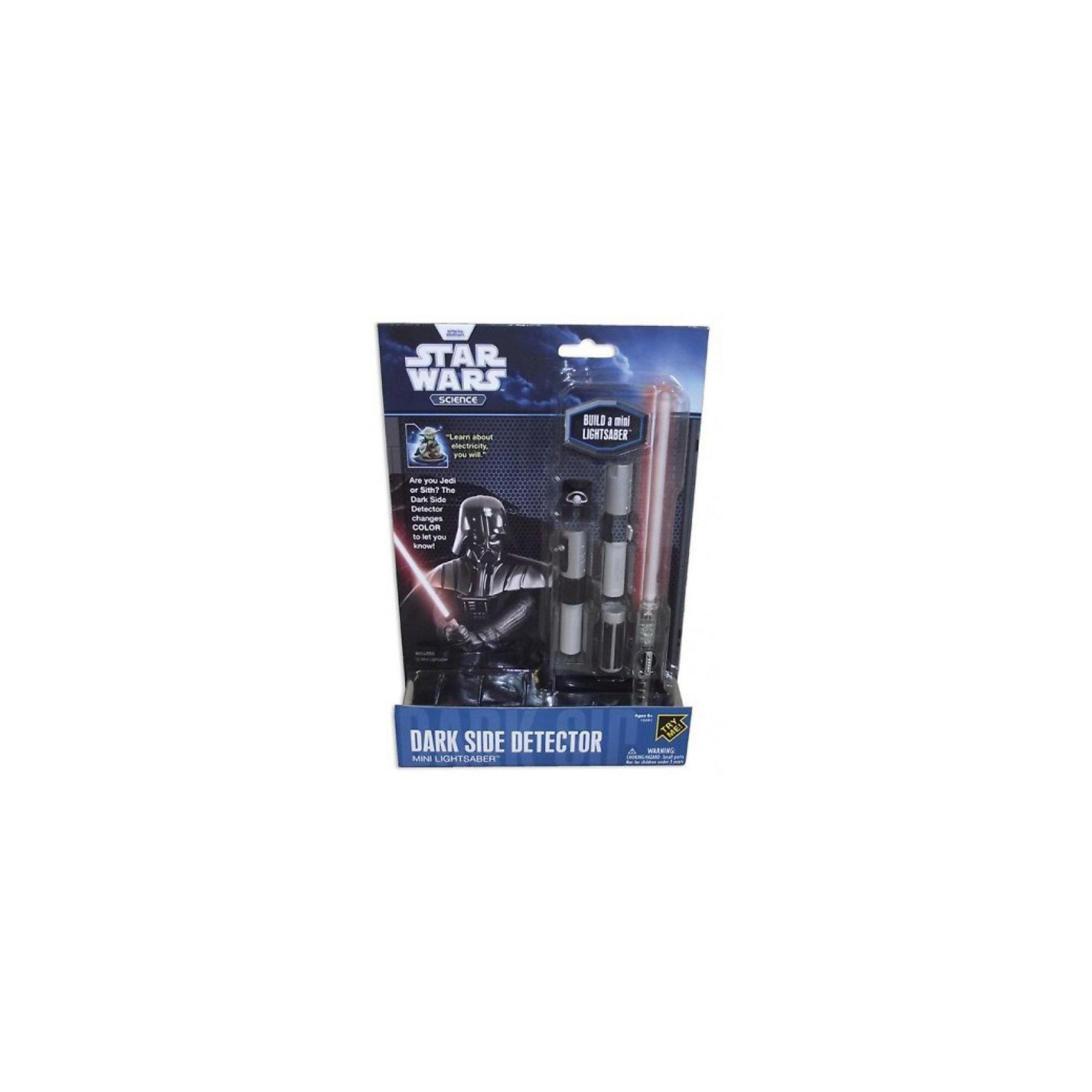 Мини-детектор Дарта Вейдера, Звёздные войныСюжетно-ролевые игры<br>Мини-детектор Дарта Вейдера, Звёздные войны - это отличный подарок юному поклоннику саги.<br>Эта миниатюрная копия высокотехнологичного оружия — светового меча из саги «Звёздные войны». Анализируя малейшие колебания Силы, он способен определить, кто взял его в руки: благородный рыцарь света или коварный адепт тёмной стороны. В руках рыцаря-джедая клинок меча будет светиться синим светом, в руках адепта тёмной стороны — красным. Такая игрушка будет отличным подарком, как юному поклоннику саги, так и специалисту со стажем. Модель светового меча обладает невероятно высокой степенью детализации и, как две капли воды, похожа на оружие из фильма.<br><br>Дополнительная информация:<br><br>- В наборе: детали меча, 3 батарейки, инструкция<br>- Длина в собранном виде: 21,6 см.<br>- Материал: пластик<br>- Размер упаковки: 25,5 х 4 х 18 см.<br>- Вес: 154 гр.<br><br>Мини-детектор Дарта Вейдера, Звёздные войны можно купить в нашем интернет-магазине.<br><br>Ширина мм: 178<br>Глубина мм: 38<br>Высота мм: 254<br>Вес г: 140<br>Возраст от месяцев: 72<br>Возраст до месяцев: 144<br>Пол: Мужской<br>Возраст: Детский<br>SKU: 3841362