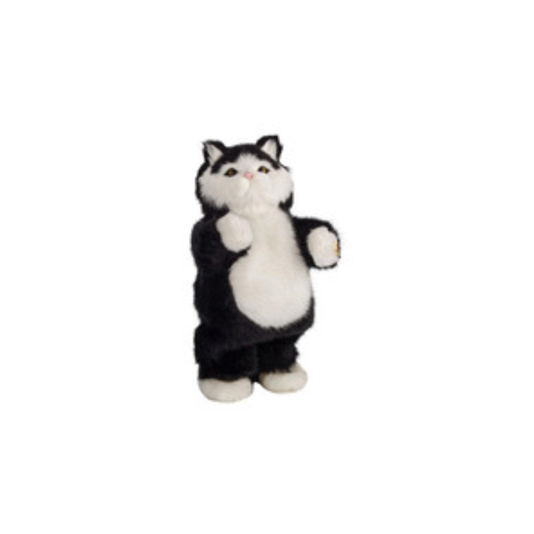 Музыкальная игрушка Черный кот Том, Party AnimalsЧерный кот Том, Party Animals - эта чудесная мягкая игрушка поднимает настроение своему владельцу. Забавному танцующему коту будут рады дети любого возраста и даже взрослые. Очаровательный пушистый питомец обладает неповторимым характером, любит танцевать и веселиться, его фирменные танцевальные движения приведут Вас в восторг и заставят улыбаться. <br><br>Для того чтобы Клео начал танцевать и воспроизводить музыку Вам понадобятся ноутбук, mp3 плеер или любое другое устройство с аудиовходом. У музыкального кота 2 режима: танец, когда Клео начинает танцевать и останавливается только тогда, когда музыка утихает и голос - режим воспроизведения музыки. В комплект также входят встроенный динамик, аудиокабель и разъем. Игрушка выполнена из мягкого плюшевого материала. <br><br>Дополнительная информация:<br><br>- Материал: плюш, пластик.<br>- Требуются батарейки: 3 х АА (в комплект не входят).<br>- Размер упаковки: 12 х 27 х 7 см.<br>- Вес: 0,33 кг.<br><br>Музыкальную игрушку Черный кот Том, Party Animals можно купить в нашем интернет-магазине.<br><br>Ширина мм: 120<br>Глубина мм: 270<br>Высота мм: 70<br>Вес г: 330<br>Возраст от месяцев: 72<br>Возраст до месяцев: 1188<br>Пол: Унисекс<br>Возраст: Детский<br>SKU: 3841365
