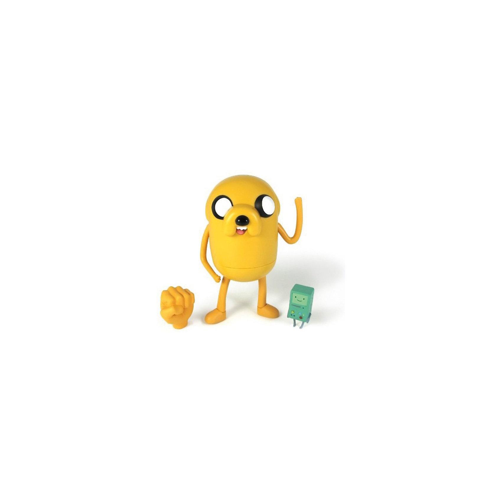 Фигурка Джейк, 14 см, Время приключенийЗабавная фигурка Джейка непременно понравится всем любителям мультсериала Время приключений (Adventure Time). Джейк - волшебный пёс, лучший друг Финна и его сводный брат. Он выглядит как жёлтый бульдог с большими глазами. Джейк умеет растягиваться и управлять своим телом, заставляя его принимать любую форму.<br><br>Дополнительная информация:<br><br>- Материал: пластик,.<br>- Размер упаковки: 8х18х25 см.<br>- Высота фигурки: 14 см. <br><br>Фигурку Джейка, 14 см, Время приключений, можно купить в нашем магазине.<br><br>Ширина мм: 80<br>Глубина мм: 180<br>Высота мм: 250<br>Вес г: 250<br>Возраст от месяцев: 48<br>Возраст до месяцев: 192<br>Пол: Унисекс<br>Возраст: Детский<br>SKU: 3841368
