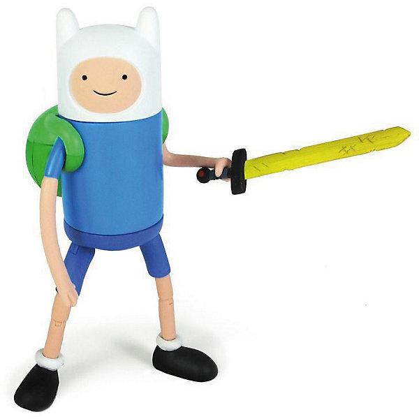 Фигурка Финн, 14 см, Время приключенийФигурки из мультфильмов<br>Забавная фигурка Финна непременно понравится всем любителям мультсериала Время приключений (Adventure Time). Финн тринадцатилетний мальчик, который обожает путешествовать и спасать принцесс из лап ужасных монстров и злодеев, населяющих Землю.<br><br>Дополнительная информация:<br><br>- Материал: пластик,.<br>- Высота фигурки: 14 см. <br><br>Фигурку Финна, 14 см, Время приключений, можно купить в нашем магазине.<br><br>Ширина мм: 80<br>Глубина мм: 180<br>Высота мм: 250<br>Вес г: 250<br>Возраст от месяцев: 48<br>Возраст до месяцев: 192<br>Пол: Унисекс<br>Возраст: Детский<br>SKU: 3841369