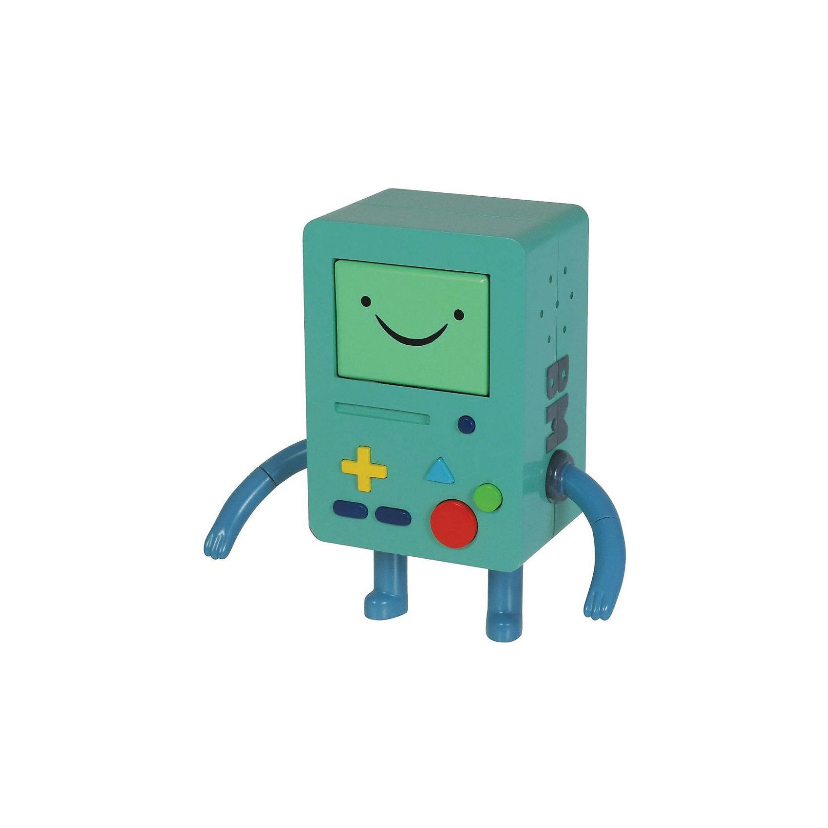 Фигурка Бимо, 14 см, Время приключенийЗабавная фигурка Бимо непременно понравится всем любителям мультсериала Время приключений (Adventure Time). Бимо - мини-робот, друг Финна и Джейка. <br><br>Дополнительная информация:<br><br>- Материал: пластик,.<br>- Высота фигурки: 14 см. <br><br>Фигурку Бимо, 14 см, Время приключений, можно купить в нашем магазине.<br><br>Ширина мм: 80<br>Глубина мм: 180<br>Высота мм: 250<br>Вес г: 250<br>Возраст от месяцев: 48<br>Возраст до месяцев: 192<br>Пол: Унисекс<br>Возраст: Детский<br>SKU: 3841372