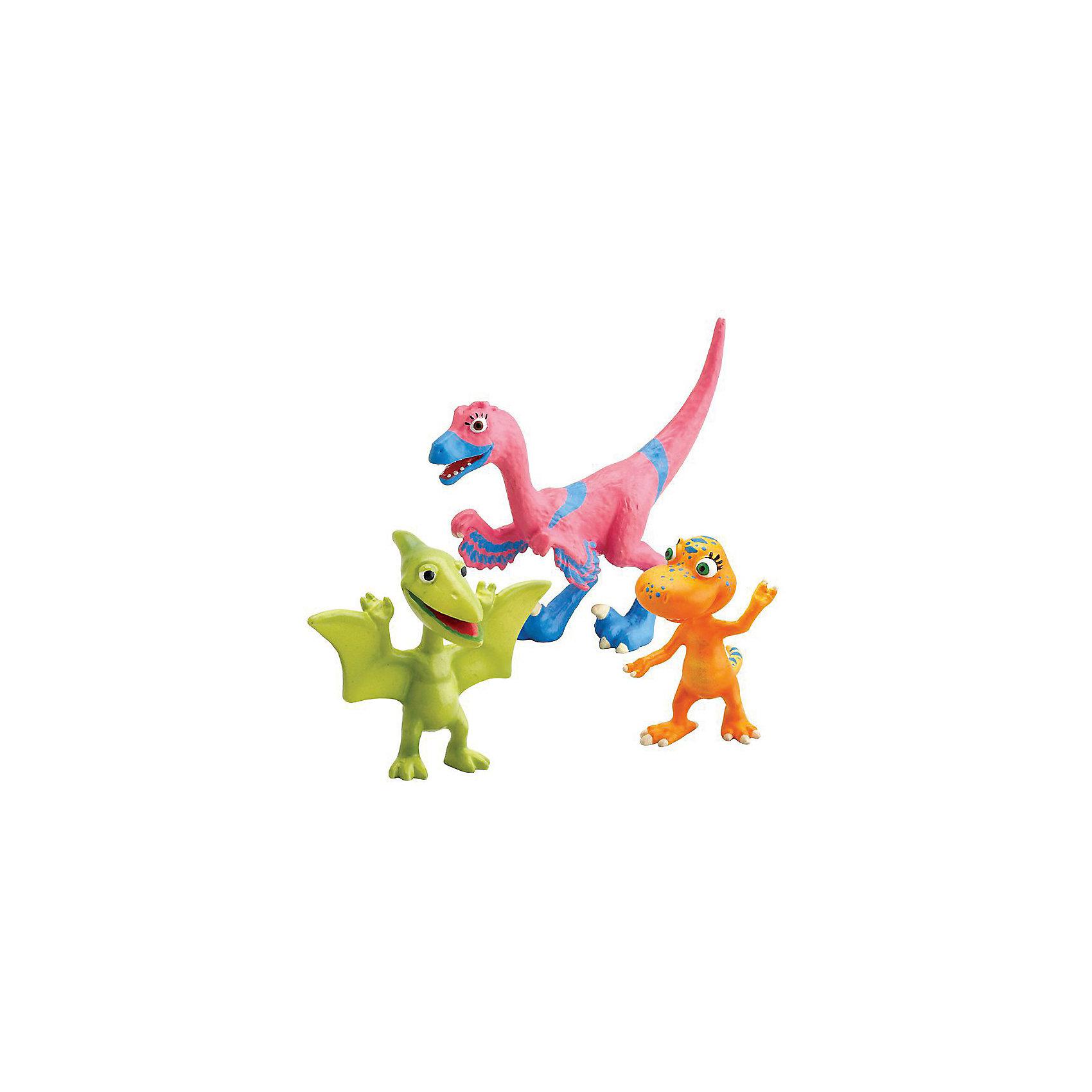 Набор из 3х фигурок (Велма, Энни, Дон), Поезд динозавров, TOMY