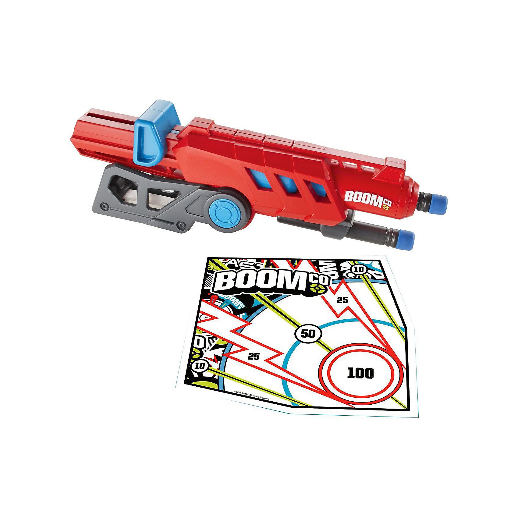 Бластер Rail Blast, BOOMcoИгрушечное оружие<br>С бластером Rail Blast ты выйдешь победителем из любой битвы! Используй его для стрельбы единичными патронами на большую дистанцию либо прикрепи его другим бластерам BOOMco (Бумко) с помощью ручки, чтобы нанести двойной удар. Заряды для бластера сделаны из полимерных материалов и имеют мягкий закругленный наконечник для еще большей безопасности. Игрушка изготовлена из прочного гипоаллергенного пластика высокого качества.<br><br>Дополнительная информация:<br><br>- Комплектация: бластер,3 стрелы с наконечниками Smart Stick, мишень со специальным покрытием.<br>- Материал: пластик.<br>- Размер упаковки: 4,5x19x23 см.<br>- Дальность стрельбы:  <br>- Соблюдайте осторожность не стреляйте в лицо и глаза!<br><br>Бластер Rail Blast, BOOMco (Бумко), можно купить в нашем магазине.<br><br>Ширина мм: 233<br>Глубина мм: 198<br>Высота мм: 53<br>Вес г: 228<br>Возраст от месяцев: 36<br>Возраст до месяцев: 72<br>Пол: Мужской<br>Возраст: Детский<br>SKU: 3841406