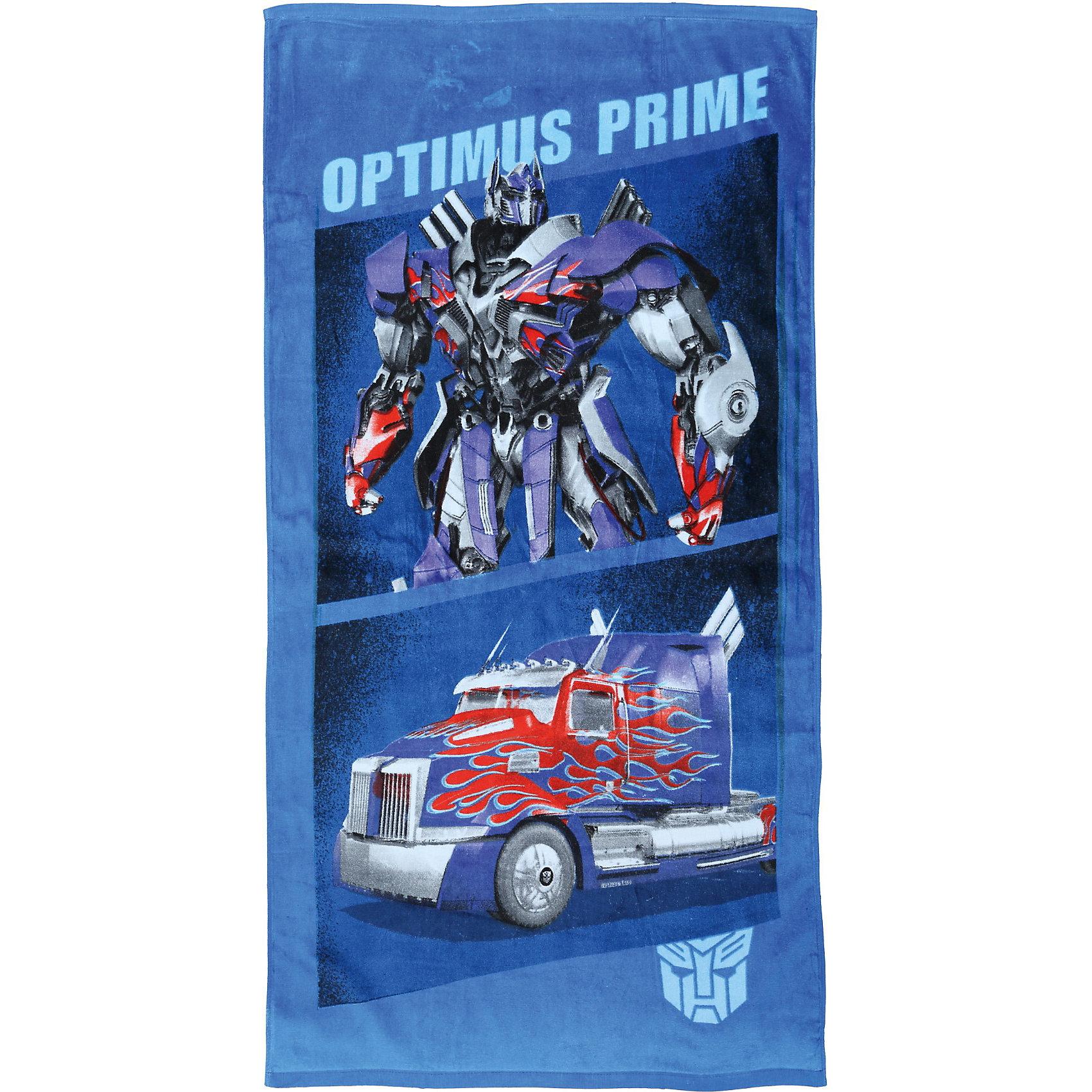Полотенце Оптимус Прайм,  70*140, ТрансформерыТрансформеры<br>Махровые полотенца коллекции Transformers (Трансформеры) выполнены из 100% хлопка с яркими изображениями любимых героев.<br><br>Дополнительная информация:<br><br>Размер: 70*140<br><br>Полотенце махровое Оптимус Прайм 70*140 см, Трансформеры можно купить в нашем магазине.<br><br>Ширина мм: 600<br>Глубина мм: 10<br>Высота мм: 250<br>Вес г: 350<br>Возраст от месяцев: 60<br>Возраст до месяцев: 180<br>Пол: Мужской<br>Возраст: Детский<br>SKU: 3849093