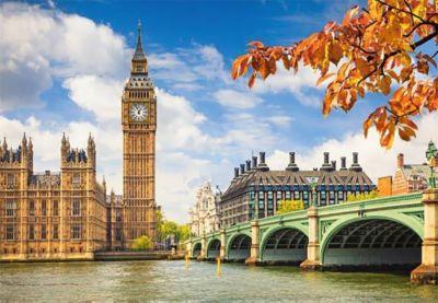 Пазл Сердце Лондона , 1000 деталей, Castorland