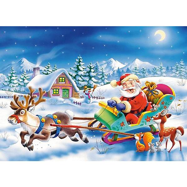 Пазл Рождество, 260 деталей , CastorlandПазлы классические<br>Рождество – чудесный праздник! <br>Пазл «Рождество» от Castorland (Касторленд) с высоким качеством полиграфии, насыщенной цветовой гаммой и интересным сюжетом совершенно точно понравится ребенку. Благодаря точной нарезке, детали пазла прочно состыковываются, принося массу положительных эмоций тем, кто его собирает. Очутись в атмосфере праздника с пазлом «Рождество» от Castorland (Касторленд)!<br><br>Дополнительная информация:<br><br>- Прекрасный подарок на Новый Год;<br>- Уникальное качество деталей;<br>- Развивает: воображение, логику, мелкую моторику, память;<br>- Размер упаковки: 17,6 x 24,5 x 3,6 см;<br>- Размер готовой картинки: 32 х 23 см;<br>- Вес: 150 г<br><br><br>Пазл «Рождество»,  260 деталей, Castorland (Касторленд)  можно купить в нашем интернет-магазине.<br>Ширина мм: 180; Глубина мм: 40; Высота мм: 130; Вес г: 150; Возраст от месяцев: 60; Возраст до месяцев: 120; Пол: Унисекс; Возраст: Детский; Количество деталей: 260; SKU: 3849133;