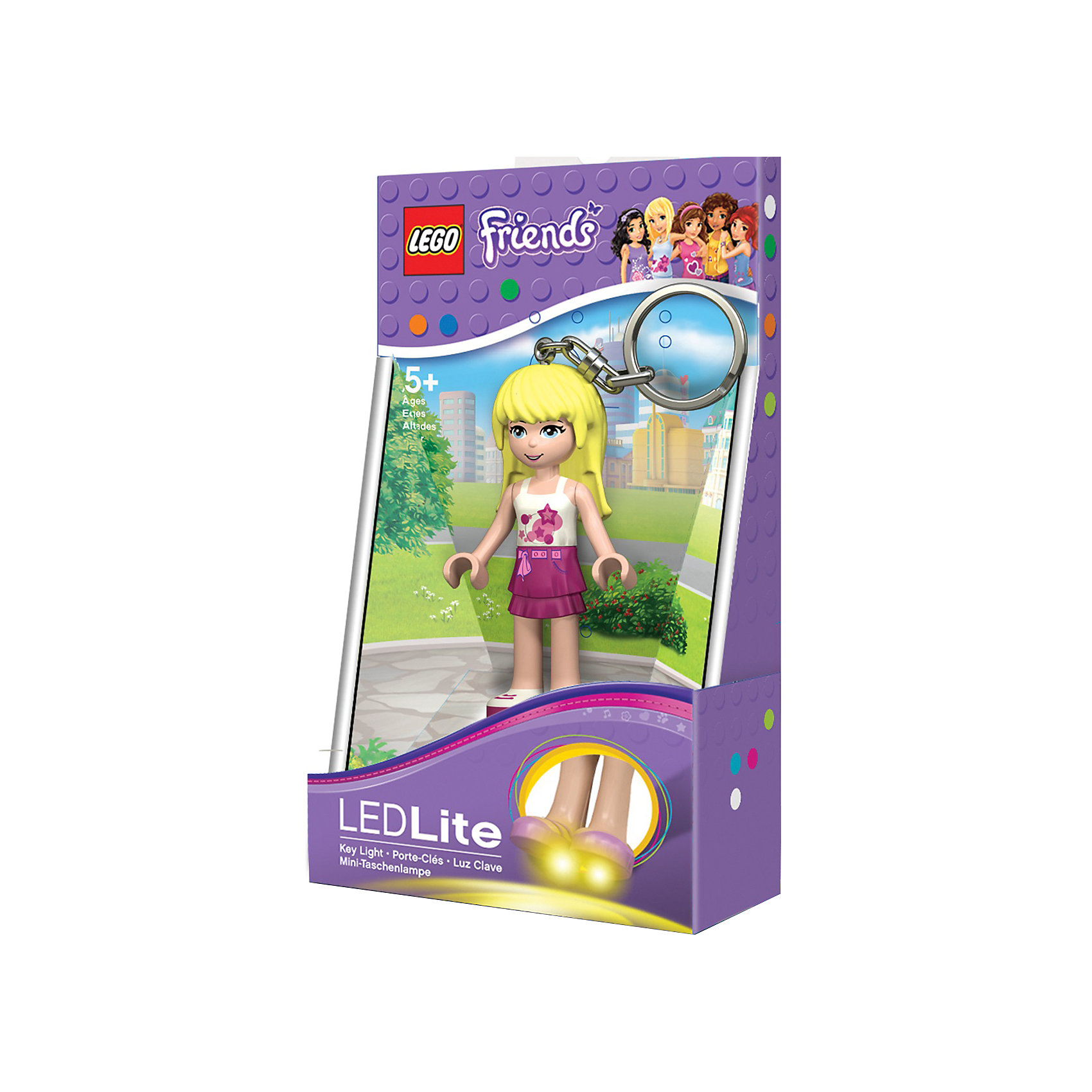 Брелок-фонарик для ключей «Стефани», LEGO FRIENDS