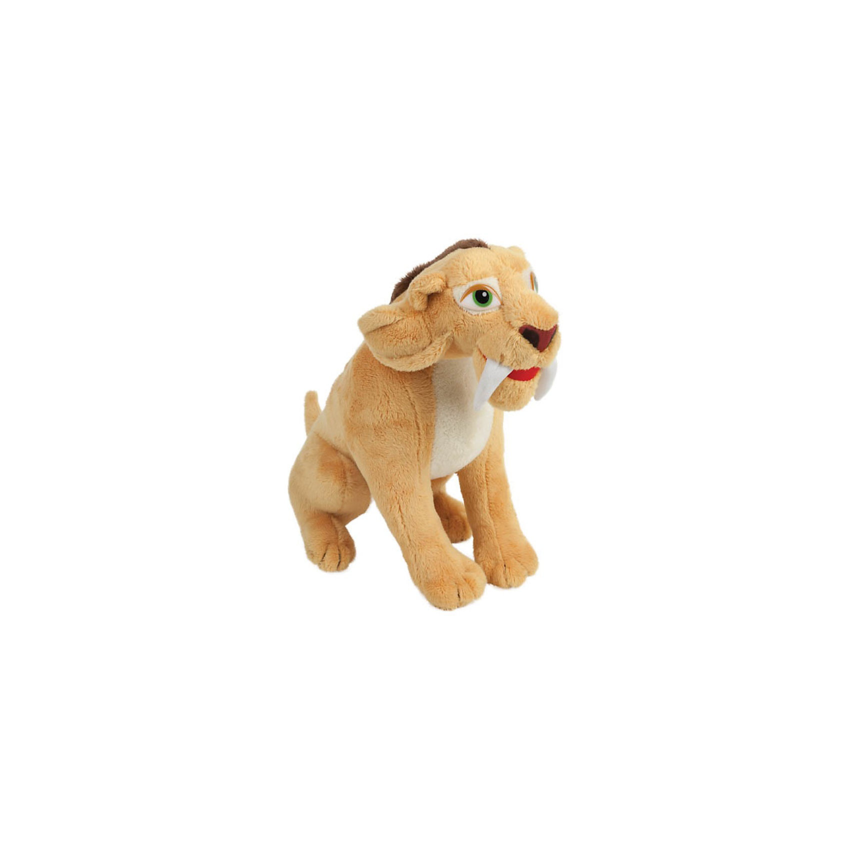 Мягкая игрушка Тигр Диего (Ледниковый период), 22 см, со звуком, МУЛЬТИ-ПУЛЬТИМягкая игрушка Тигр Диего (Ледниковый период), 22 см, со звуком, МУЛЬТИ-ПУЛЬТИ - быстрый и выносливый саблезубый тигр - герой популярного мультфильма Ледниковый период, полюбившегося как детям, так и взрослым.<br><br>Игрушка выполнена в точном соответствии с мультяшным прототипом, произносит фразы и исполняет мелодию из мультфильма (при нажатии на кнопку на теле героя). <br><br>Дополнительная информация:<br><br><br>- Материалы: текстиль, синтепон.<br>- Высота игрушки: 22 см.<br>- Со звуком.<br><br>Мягкую игрушку Тигр Диего (Ледниковый период), 22 см, со звуком, МУЛЬТИ-ПУЛЬТИ можно купить в нашем интернет-магазине.<br><br>Ширина мм: 240<br>Глубина мм: 370<br>Высота мм: 120<br>Вес г: 250<br>Возраст от месяцев: 12<br>Возраст до месяцев: 120<br>Пол: Унисекс<br>Возраст: Детский<br>SKU: 3850333