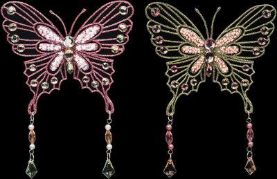 Елочная игрушка бабочка