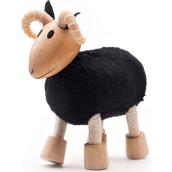 Барашек, AnaMalzИгровые фигурки животных<br>Характеристики товара:<br><br>• возраст: от 3 лет;<br>• размер игрушки: 7х7,5х3 см;<br>• материал: дерево, текстиль, резина;<br>• размер упаковки: 13х6х4см;<br>• страна бренда: Австралия.<br><br>Барашек от AnaMalz - чудесная игрушка, которая подарит много радости детям и взрослым. Игрушка изготовлена из дерева и текстиля. Туловище игрушки дополнено мягким мехом, ноги сгибаются для создания разнообразных поз. Игрушка изготовлена из экологически чистых материалов и окрашена безопасными красками, вручную. Игра с деревянными игрушками развивает воображение, фантазию и мелкую моторику.<br><br>Барашка, AnaMalz (АнаМалз) можно купить в нашем интернет-магазине.<br>Ширина мм: 90; Глубина мм: 40; Высота мм: 90; Вес г: 50; Возраст от месяцев: 36; Возраст до месяцев: 168; Пол: Унисекс; Возраст: Детский; SKU: 3858517;