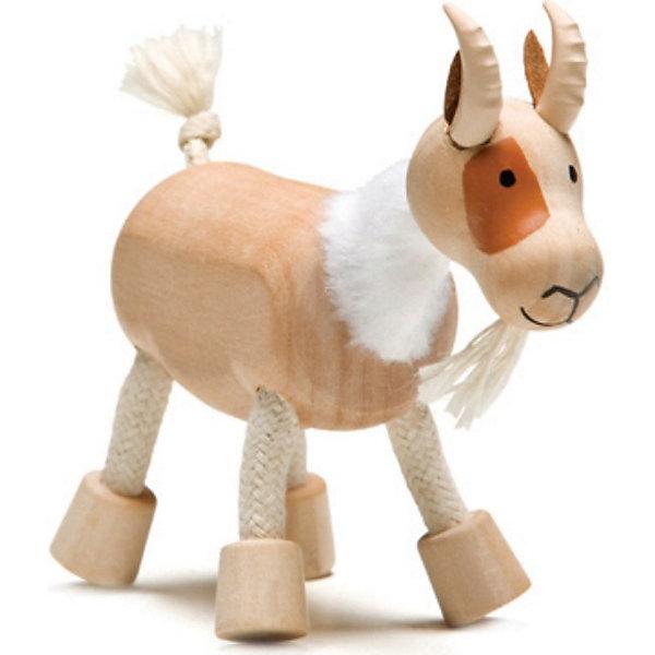 Козлик, AnaMalzИгровые фигурки животных<br>AnaMalz – самые милые деревянные игрушки на свете!<br><br>Придуманные австралийским дизайнером Луизой Косан-Скотт,<br>игрушки AnaMalz завоевали более 15 отраслевых наград, включая Австралийскую международную награду в области дизайна, присуждаемую организацией Standards Australia.<br>- Игрушки AnaMalz предназначены для детей от 3 лет<br><br>- AnaMalz изготовлены из дерева, называемого schima superba или «игольчатое дерево» (быстрорастущее дерево, выращиваемое на лесных плантациях)<br><br>- Рога изготовлены из термопластичной резины (TPR) – материала, одобренного Управлением по контролю качества пищевых продуктов и медикаментов (FDA). Смесь TPR с древесной мукой является экологичной альтернативой пластмассе<br><br>- Все игрушки AnaMalz раскрашиваются вручную с использованием безопасной для детей краски и клея без содержания формальдегида<br><br>- Древесные отходы от производства AnaMalz используются на ферме для выращивания грибов<br><br>AnaMalz завоевали популярность во всем мире. Они стали участниками телевизионных шоу TODAY, шоу Марты Стюарт, Daily Candy Kids и USA Today Weekend. <br><br>Наши маленькие деревянные друзья покорили сердца самых строгих критиков отрасли – и получили множество «игрушечных» наград!<br><br>Ширина мм: 90<br>Глубина мм: 40<br>Высота мм: 90<br>Вес г: 50<br>Возраст от месяцев: 36<br>Возраст до месяцев: 168<br>Пол: Унисекс<br>Возраст: Детский<br>SKU: 3858518