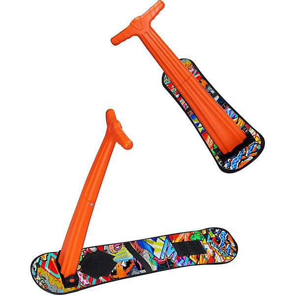 Снежный самокат «Шустрик»Лыжи и сноуборды<br>Снежный самокат «Шустрик» – это самый простой в управлении детский снежный самокат.<br>Самокат Шустрик – это самый легкий самокат для снега, с которым без труда справится даже 5-летний малыш. У него широкая и очень устойчивая ножная платформа, поэтому Ваш ребенок не перевернется во время катания. Противоскользящие площадки не дадут ноге самопроизвольно соскочить на снег. Доска самоката сделана из прочного морозостойкого пластика и выдержит динамические нагрузки. Самокат складной, что позволит его легко хранить и переносить.<br><br>Дополнительная информация:<br><br>- Комплектация: самокат без крепления с пластиковой выдувной ручкой<br>- Размер доски: 950х225 мм.<br>- Высота ручки: 650 мм.<br>- Максимальная нагрузка: до 90 кг.<br>- Материал: пластик<br>- Вес: 1,9 кг.<br><br>Снежный самокат «Шустрик» можно купить в нашем интернет-магазине.<br><br>Ширина мм: 950<br>Глубина мм: 225<br>Высота мм: 6<br>Вес г: 2000<br>Возраст от месяцев: 60<br>Возраст до месяцев: 120<br>Пол: Унисекс<br>Возраст: Детский<br>SKU: 3861277