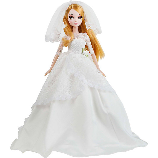 Кукла Нежное кружево Золотая коллекция, Sonya RoseБренды кукол<br>Прекрасная куколка станет любимой игрушкой каждой девочки. Имеет пропорциональное тело и тонкие черты лица. Большие глаза опушены шикарными ресницами. Кукла в наряде невесты. Белое атласное платье декорировано нежным невесомым кружевом и изысканным украшением в форме цветка на поясе. На ногах - маленькие белые туфельки. На голове у куклы, как и полагается невесте - пышная белая фата. Собери всех кукол серии, пусть они ходят друг к другу в гости, меняются аксессуарами и одеждой.<br><br>Дополнительная информация:<br><br>- Материал: пластик, текстиль<br>- Размер: 27 см<br>- Ножки, ручки, голова куклы - подвижные.<br><br>Куклу Нежное кружево Золотая коллекция , Sonya Rose можно купить в нашем магазине.<br>Ширина мм: 230; Глубина мм: 70; Высота мм: 320; Вес г: 400; Возраст от месяцев: 36; Возраст до месяцев: 84; Пол: Женский; Возраст: Детский; SKU: 3861417;