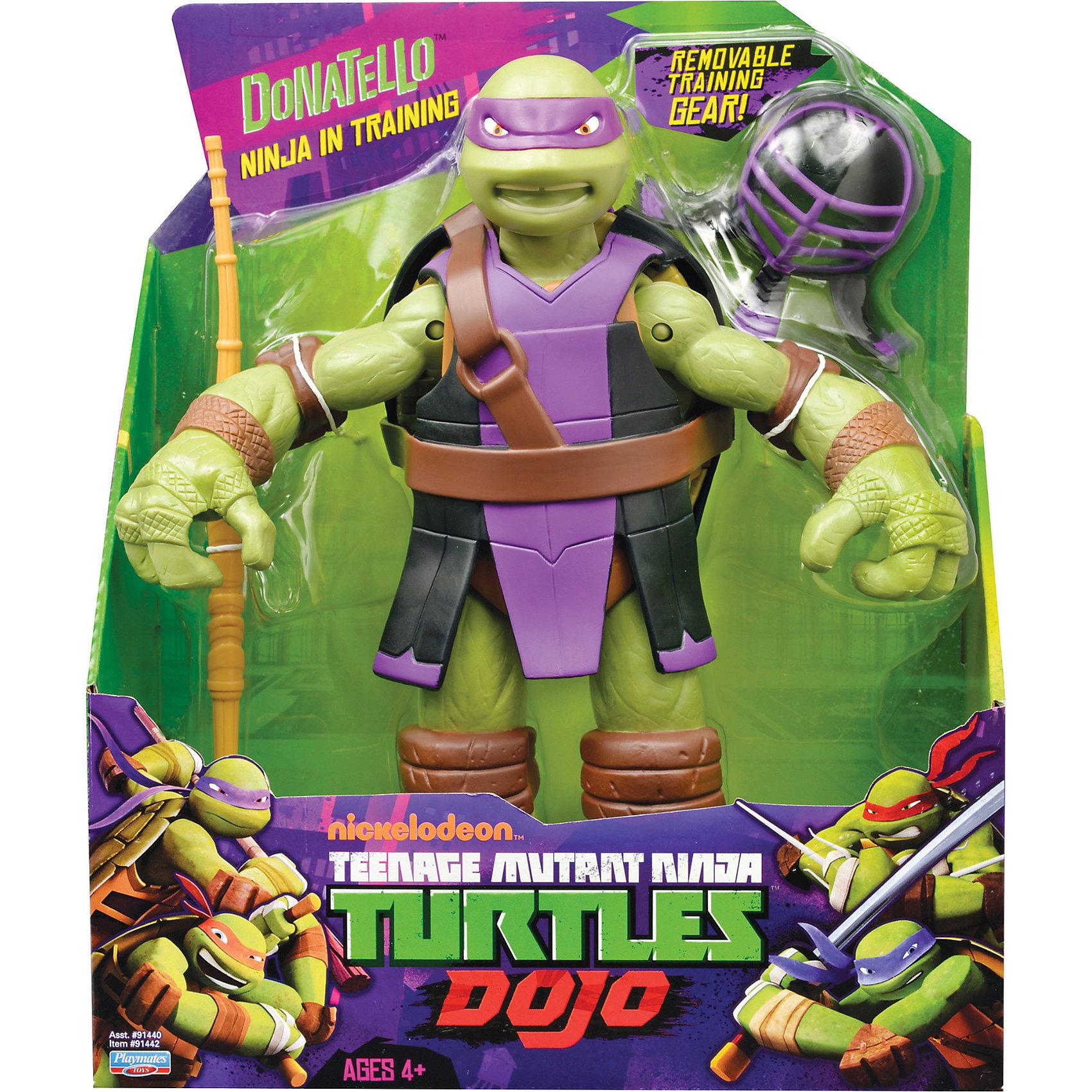 Фигурка Донателло, 28 см,  Черепашки НиндзяФигурка Донателло порадует всех любителей черепашек- ниндзя. Игрушка прекрасно детализирована, черепашка выглядит точь- в точь, как герой из любимого мультфильма. Смелый  Донателло,  вооруженный шестом Бо и быстрыми разящими сюрикэнами, готов бороться с силами зла. Его оружие легко помещается в открывающийся панцирь на спине. Игрушка развивает мелкую моторику и фантазию.  Собери всех черепашек - ниндзя - пусть друзья побеждают врагов вместе. <br><br><br>Дополнительная информация:<br><br>- Материал: пластик.<br>- Размер: 28 см<br>- Руки, ноги, голова  - подвижные.<br>- Комплектация: фигурка черепашки- ниндзя, шест Бо, сюрикэны.<br><br>Фигурку Донателло, 28 см,  Черепашки Ниндзя  можно купить в нашем магазине.<br><br>Ширина мм: 250<br>Глубина мм: 130<br>Высота мм: 310<br>Вес г: 800<br>Возраст от месяцев: 36<br>Возраст до месяцев: 84<br>Пол: Мужской<br>Возраст: Детский<br>SKU: 3861425