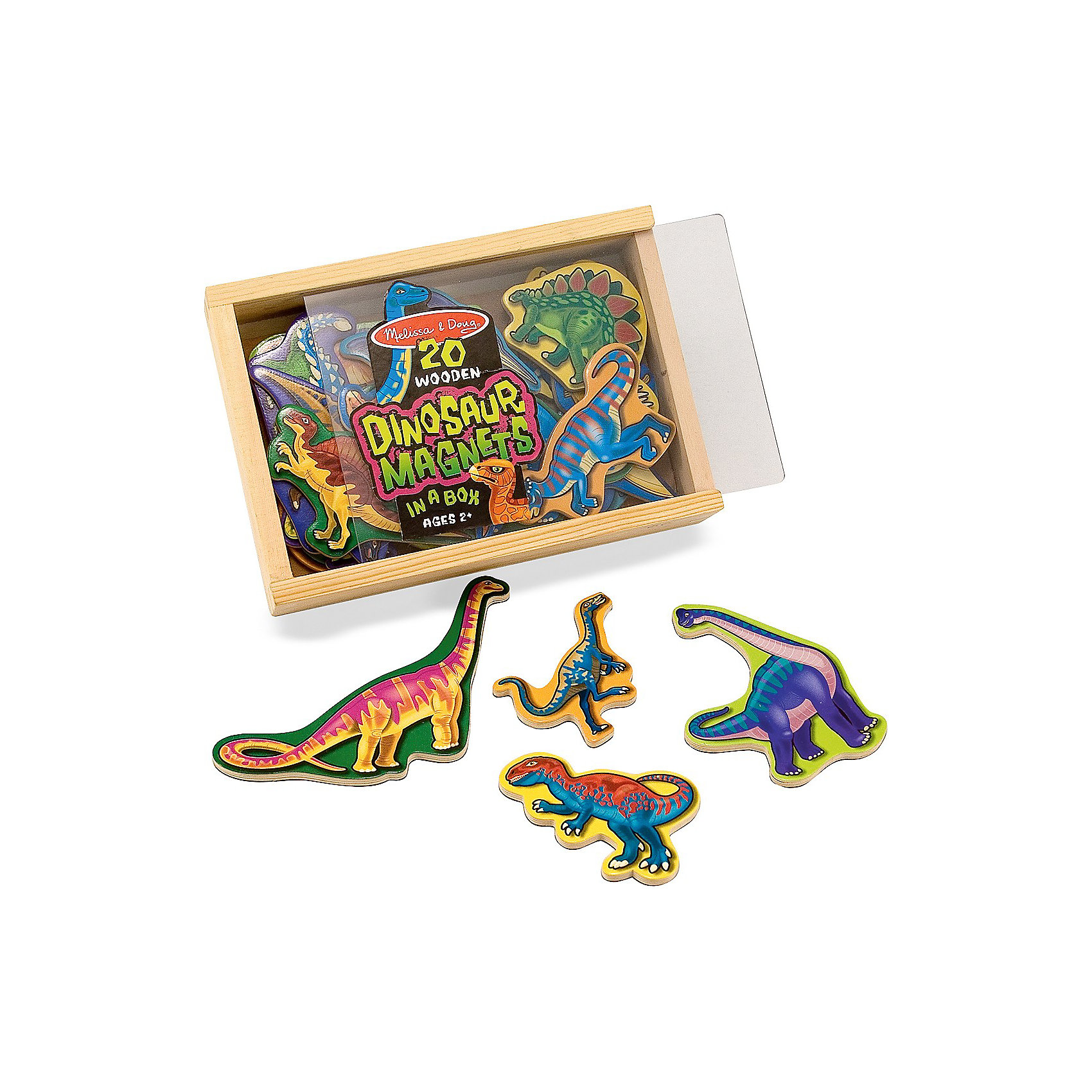 Магнитная игра Динозавры, Melissa &amp; DougРазнообразьте игры Вашего малыша с помощью магнитной игры Динозавры, Melissa &amp; Doug. Дети всех возрастов обожают динозавров, ведь они необычайно сильные и их размеры внушают трепет. Теперь изучать любимых рептилий стало проще! С помощью игры Динозавры Ваш малыш сможет не только в деталях рассмотреть динозавров разных видов, но и узнать много нового о каждом из них. Играть с динозаврами очень удобно, как на магнитной доске, так и на обычном холодильнике.  Просто развлекаясь, ребенок будет тренировать логику, воображение, моторику рук и конечно же память! Играйте и наслаждайтесь вместе с  Melissa &amp; Doug!<br><br>Дополнительная информация:<br><br>-  Способствует развитию мелкой моторики, воображения, логического мышления;<br>- Потрясающие подарок;<br>- Удобная коробочка для хранения;<br>- Красочный дизайн;<br>- Материал: натуральное дерево, безопасные краски;<br>- Размер упаковки: 20 х 4 х 14 см;<br>- Вес: 408 г<br><br>Магнитную игру Динозавры, Melissa &amp; Doug  можно купить в нашем интернет-магазине.<br><br>Ширина мм: 200<br>Глубина мм: 40<br>Высота мм: 140<br>Вес г: 408<br>Возраст от месяцев: 36<br>Возраст до месяцев: 60<br>Пол: Унисекс<br>Возраст: Детский<br>SKU: 3861962
