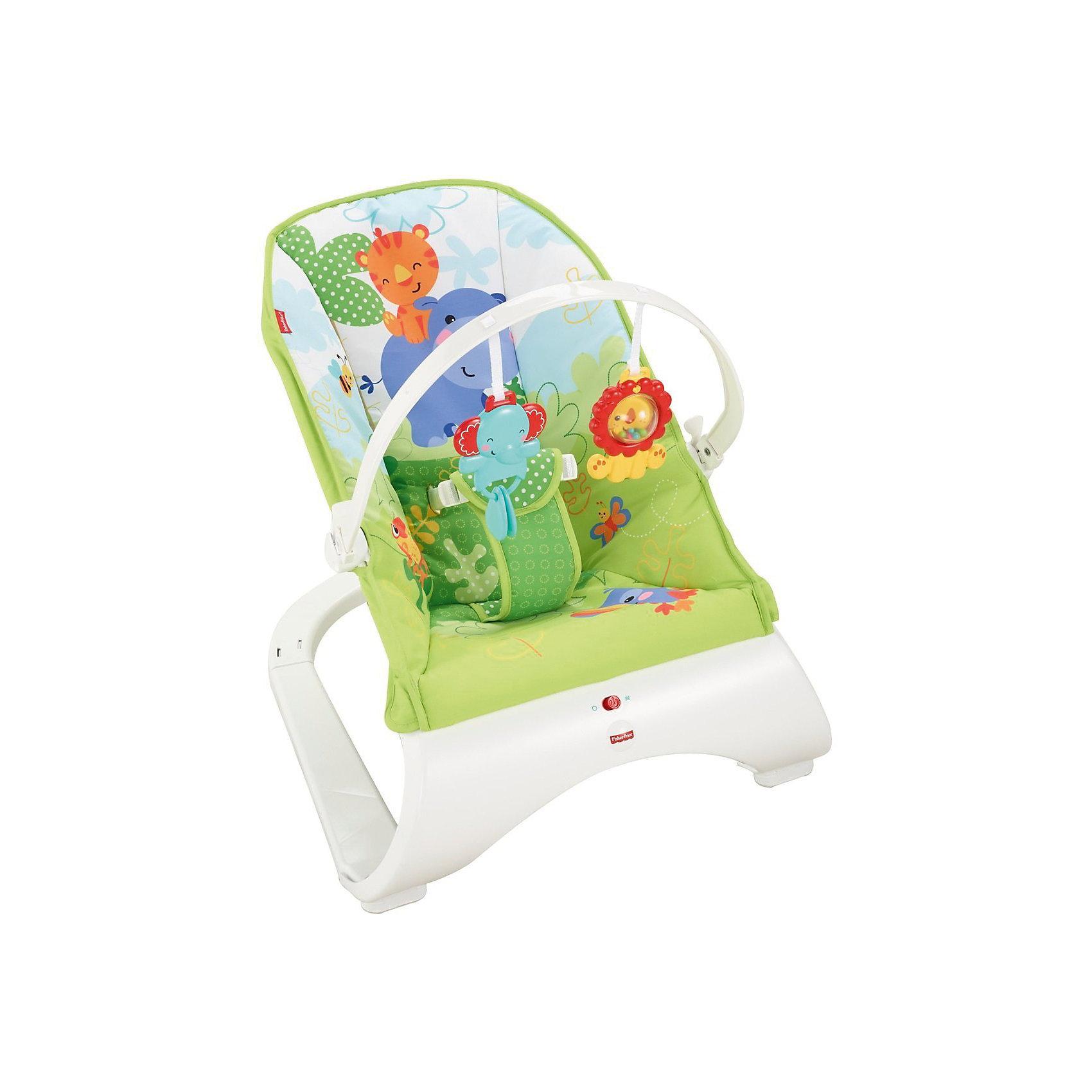 Кресло Друзья из тропического леса Fisher-price (Mattel)