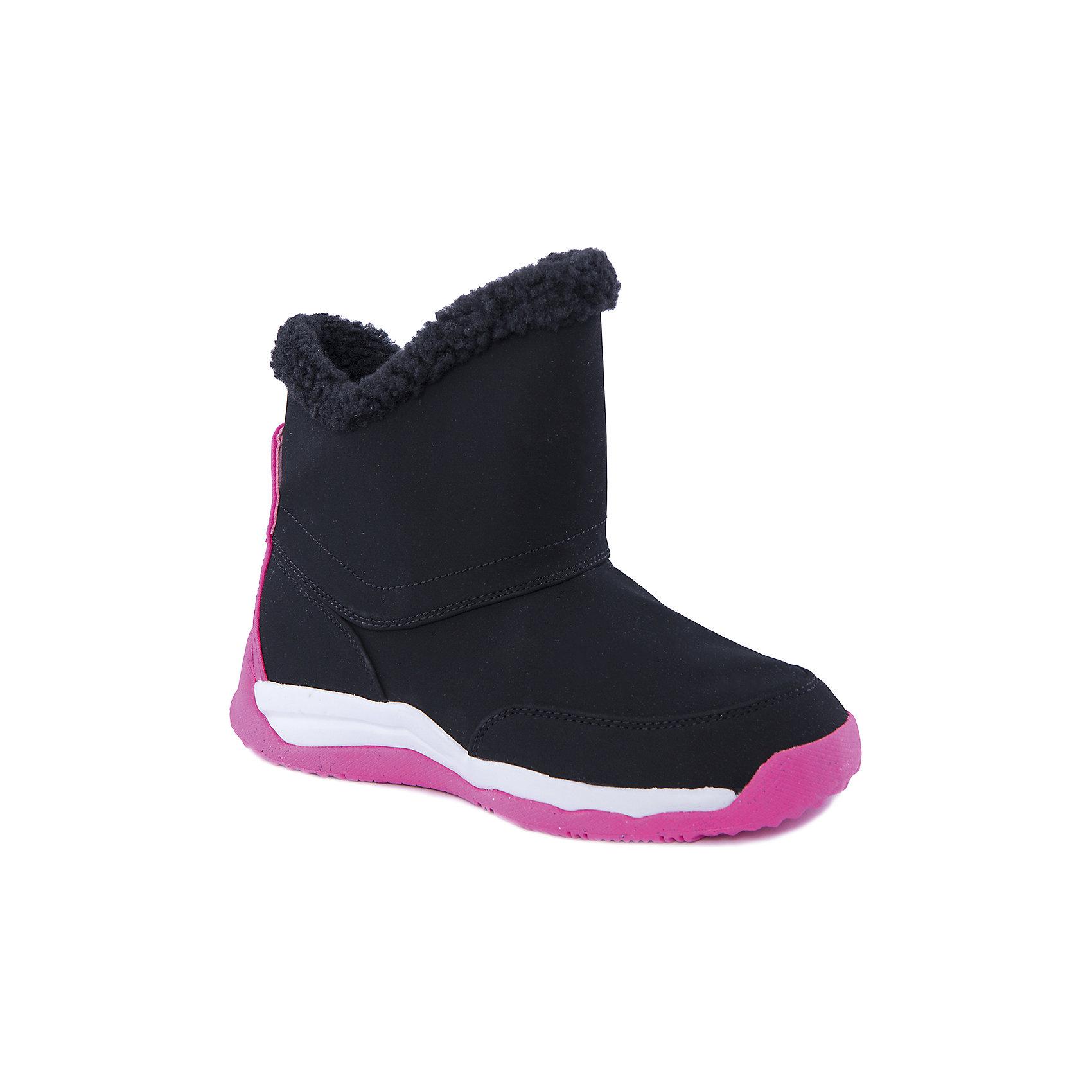 Сапоги для девочки CHUKKA MOC 2 WIDE NIKEБотинки<br>Легкие и теплые демисезонные ботинки для девочки CHUKKA MOC 2 WIDE от известной марки NIKE. Изделие предназначено для повседневной носки при температуре воздуха от -5 до +10 градусов и обладает следующими особенностями:<br>- яркая расцветка, привлекательный дизайн;<br>- закругленный мыс;<br>- удобная застежка-молния сбоку;<br>- укрепленный задник;<br>- мягкая подкладка;<br>- удобная стелька;<br>- легкая подошва, обеспечивающая отличное сцепление с любой поверхностью.<br> <br>Состав:<br>верх: 51% синтетика, 49% текстиль<br>подкладка: 100% текстиль<br>подошва: 100% резина<br><br>Ботинки для девочки CHUKKA MOC 2 WIDE  от NIKE (Найк) можно купить в нашем магазине<br><br>Ширина мм: 250<br>Глубина мм: 150<br>Высота мм: 150<br>Вес г: 250<br>Цвет: черный<br>Возраст от месяцев: 132<br>Возраст до месяцев: 144<br>Пол: Женский<br>Возраст: Детский<br>Размер: 35.5,35,37,37.5,36.5,37,34,34.5<br>SKU: 3865982