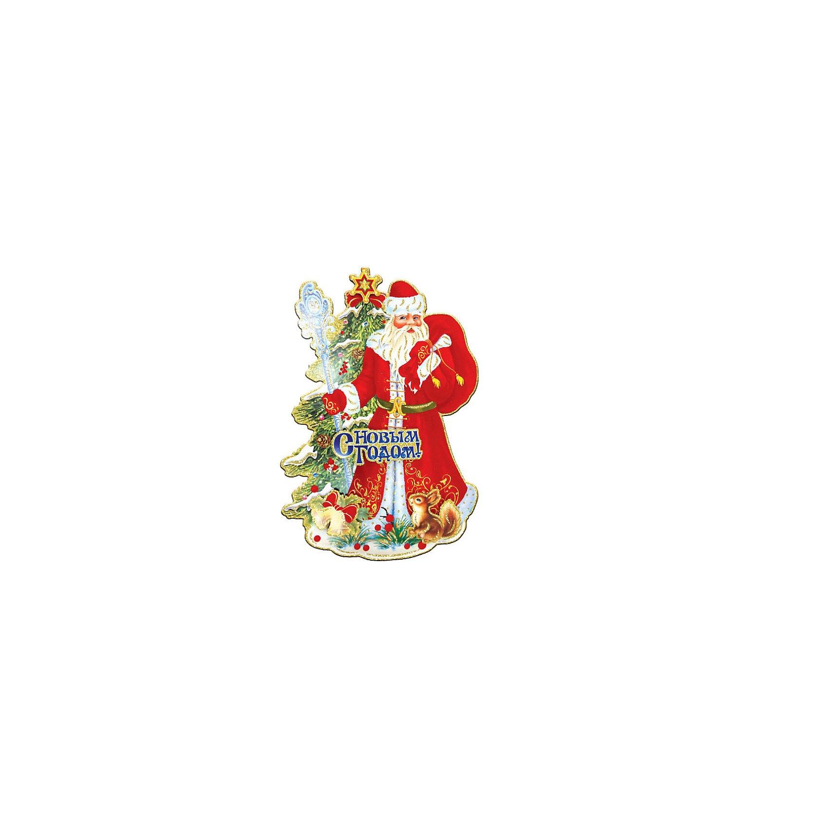 Панно бумажное Дед Мороз, TUKZARБумажное панно Дед Мороз, Tukzar (Тукзар) станет замечательным украшением Вашего интерьера и поможет создать волшебную атмосферу новогоднего праздника. Бумажное панно выполнено в виде нарядной композиции с изображениями Деда Мороза и новогодней елки.<br><br>Дополнительная информация:<br><br>- Размер панно: 53 х 37 см.<br>- Вес: 91 гр. <br><br>Бумажное панно Дед Мороз, Tukzar (Тукзар) можно купить в нашем интернет-магазине.<br><br>Ширина мм: 530<br>Глубина мм: 370<br>Высота мм: 20<br>Вес г: 91<br>Возраст от месяцев: 36<br>Возраст до месяцев: 168<br>Пол: Унисекс<br>Возраст: Детский<br>SKU: 3875847
