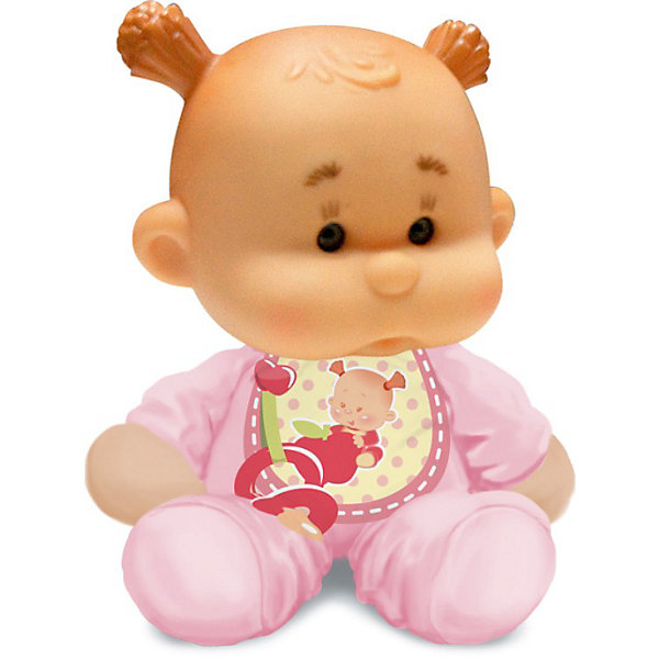 Пупс с мягконабивным телом, YogurtinisКуклы<br>Фруктовые пупсы Yogurtinis (Йогуртини) уже завоевали любовь малышек по всему миру, теперь и Ваша девочка сможет по достоинству оценить этих ароматных малышей. Новые пупсы из серии  Yogurtinis Potitos (Йогуртини) - очень мягкие и трогательные. Они станут любимцами даже у самых маленьких, ведь у них мягконабивное тельце и выразительная головка из мягкой экологичной резины. Малышка так и просится на ручки.  Благодаря мягкому тельцу, куколку так удобно брать с собой в кроватку. Она как и все малыши очень приятно пахнет. <br>Куколки упакованы в стилизованные баночки из под детского питания с ложечкой, что сделает подарок особенно выразительным. Ухаживая за пупсом, ребенок воспитывает в себе только самые полезные качества, учится заботе, доброте, развивает воображение и артистические навыки!<br><br>Дополнительная информация:<br><br>- В комплекте Пупс с мягконабивным телом, с соской  в  упаковке для детского питания;<br>- Прекрасный подарок маленькой девочке;<br>- Прекрасный фруктовый аромат;<br>- Выразительное личико;<br>- Удобно брать в путешествия;<br>- Высота куколки: 12 см;<br>- Размер упаковки: 12 х 12 х 15,5 см;<br>- Вес: 230 г<br><br>Пупса с мягконабивным телом, Yogurtinis (Йогуртини) можно купить в нашем интернет-магазине.<br><br>Ширина мм: 120<br>Глубина мм: 120<br>Высота мм: 155<br>Вес г: 230<br>Возраст от месяцев: 36<br>Возраст до месяцев: 72<br>Пол: Женский<br>Возраст: Детский<br>SKU: 3879026