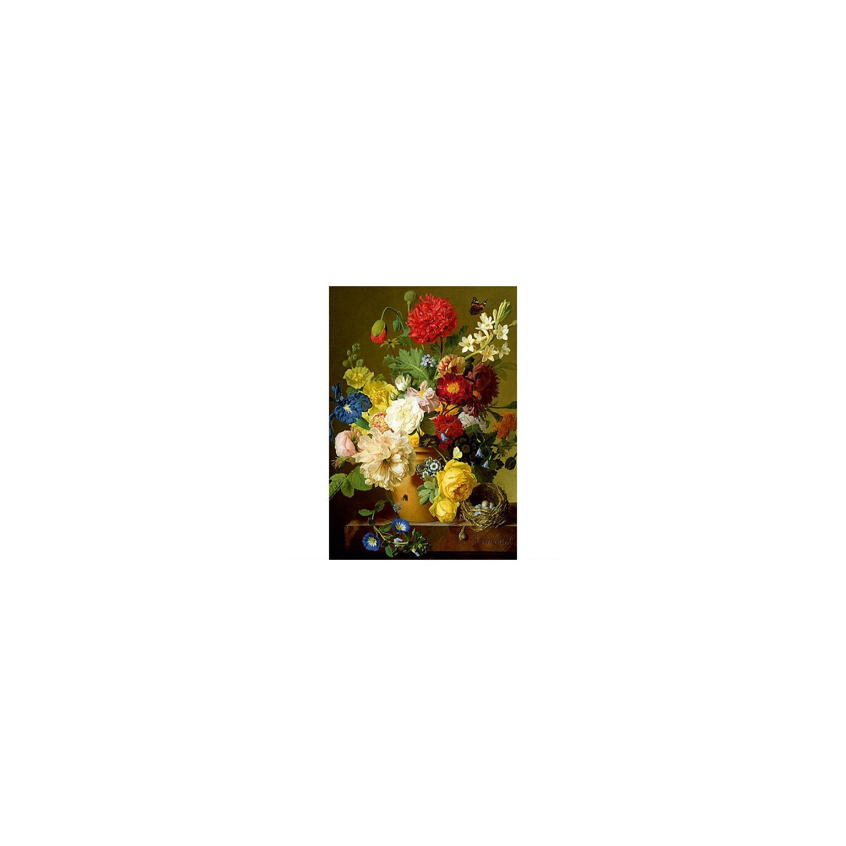Пазл  Натюрморт с цветами, 1500 деталей, TreflПазлы для детей постарше<br>Пазл  Натюрморт с цветами, Trefl - увлекательный набор для творчества, который будет интересен как детям так и их родителям. С помощью входящих в набор деталей Вы сможете собрать чудесную картину в жанре натюрморта с изображением разнообразных роскошных цветов в керамическом горшке. Пазл выполнен на каландрированной бумаге и отличается высоким качеством полиграфии и насыщенными цветами. Собрать пазл из 1500 деталей - не простая задача, поэтому лучше всего этот набор подойдет детям от 12 лет и взрослым.<br> <br>Собирание пазла способствует развитию логического мышления, внимания, мелкой моторики и координации движений.<br><br>Дополнительная информация:<br><br>- Материал: картон.<br>- Размер собранной картинки: 85 x 85 см.<br>- Размер упаковки: 40,1 х 27 х 6 см. <br>- Вес: 0,98 кг.<br><br> Пазл  Натюрморт с цветами, Trefl можно купить в нашем интернет-магазине.<br><br>Ширина мм: 270<br>Глубина мм: 401<br>Высота мм: 60<br>Вес г: 980<br>Возраст от месяцев: 144<br>Возраст до месяцев: 1188<br>Пол: Женский<br>Возраст: Детский<br>Количество деталей: 1500<br>SKU: 3879931
