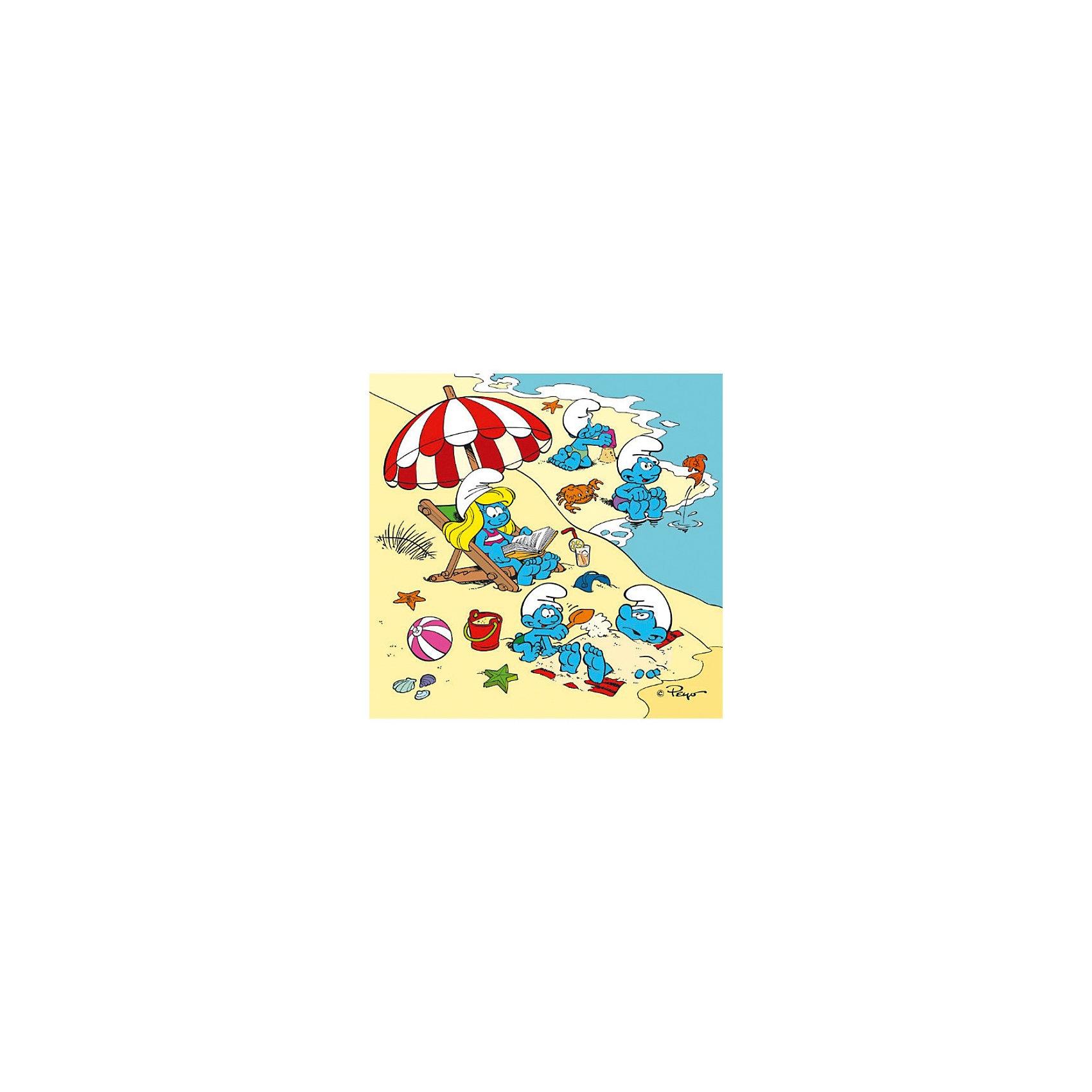 """Набор пазлов """"Развлечения Смурфов"""", 30 деталей, Trefl от myToys"""