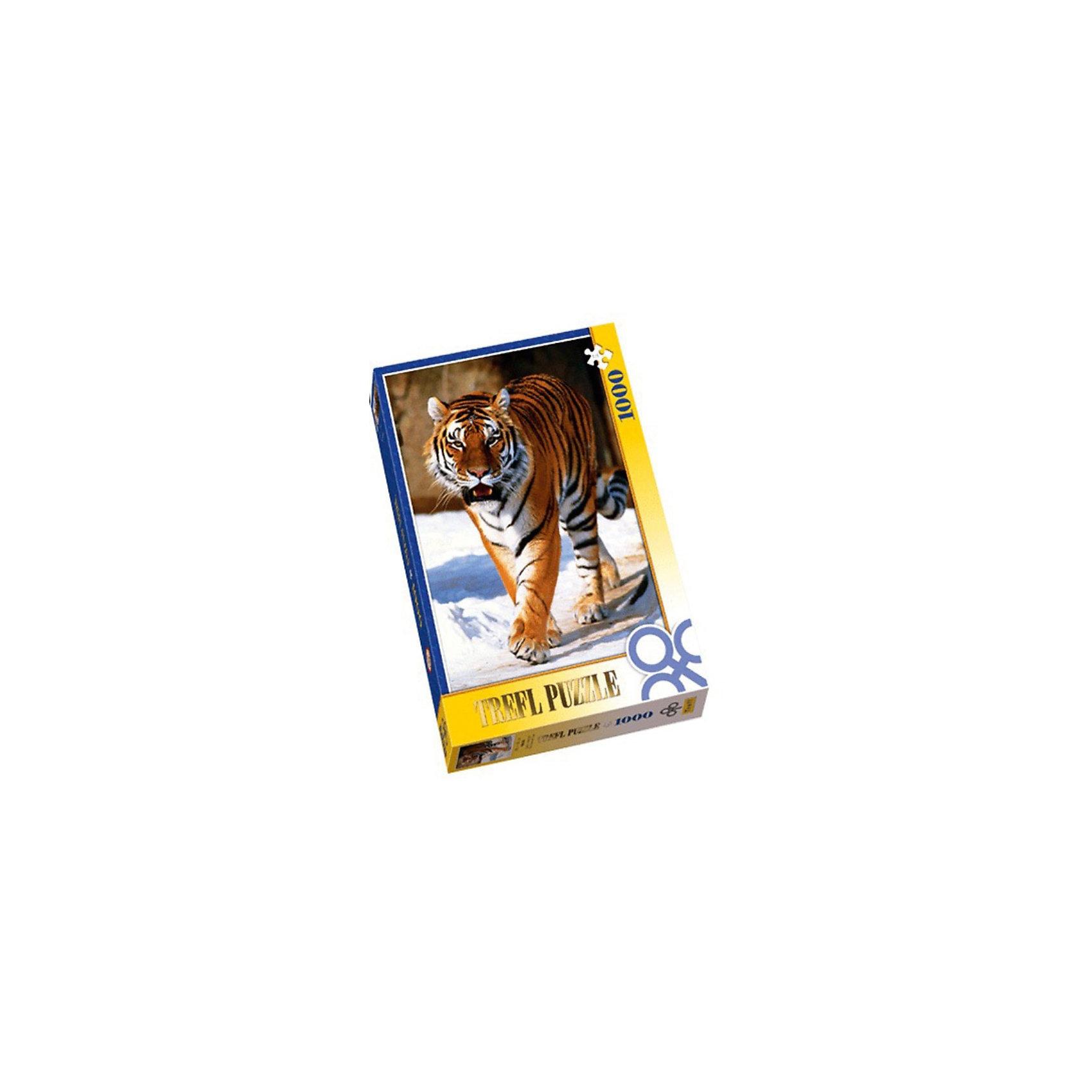 Настольная игра Сибирский тигр, Пазл 1000 деталей