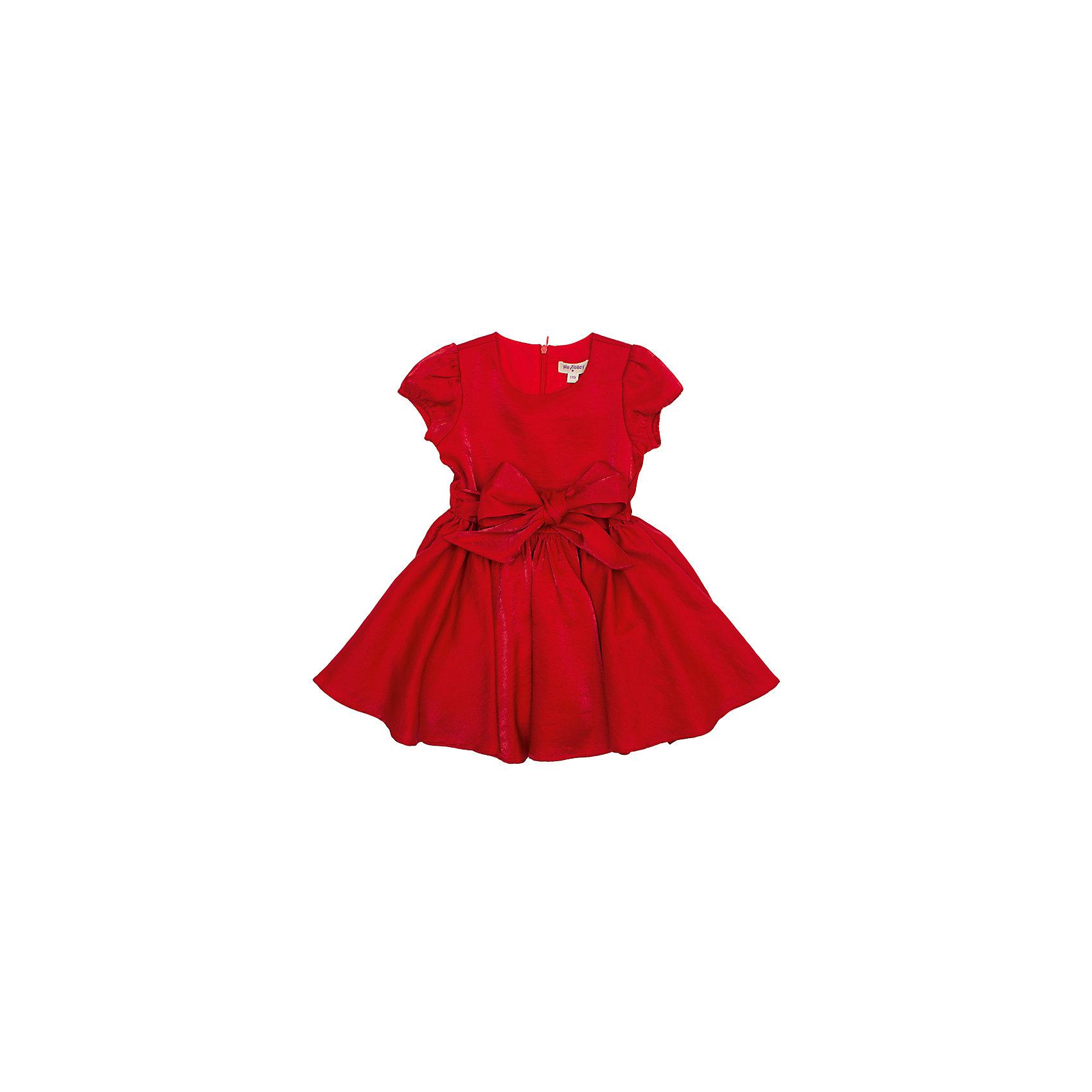 Платье PlayTodayПлатье PlayToday. <br>Состав: верх: 70% вискоза, 30% нейлон, подкладка: 100% хлопок <br><br>*атласное платье <br>*пышная юбка <br>*атласный широкий пояс<br>*застежка - потайная молния<br><br>Ширина мм: 236<br>Глубина мм: 16<br>Высота мм: 184<br>Вес г: 177<br>Цвет: красный<br>Возраст от месяцев: 24<br>Возраст до месяцев: 36<br>Пол: Женский<br>Возраст: Детский<br>Размер: 104,98,110,122,128,116<br>SKU: 3892866