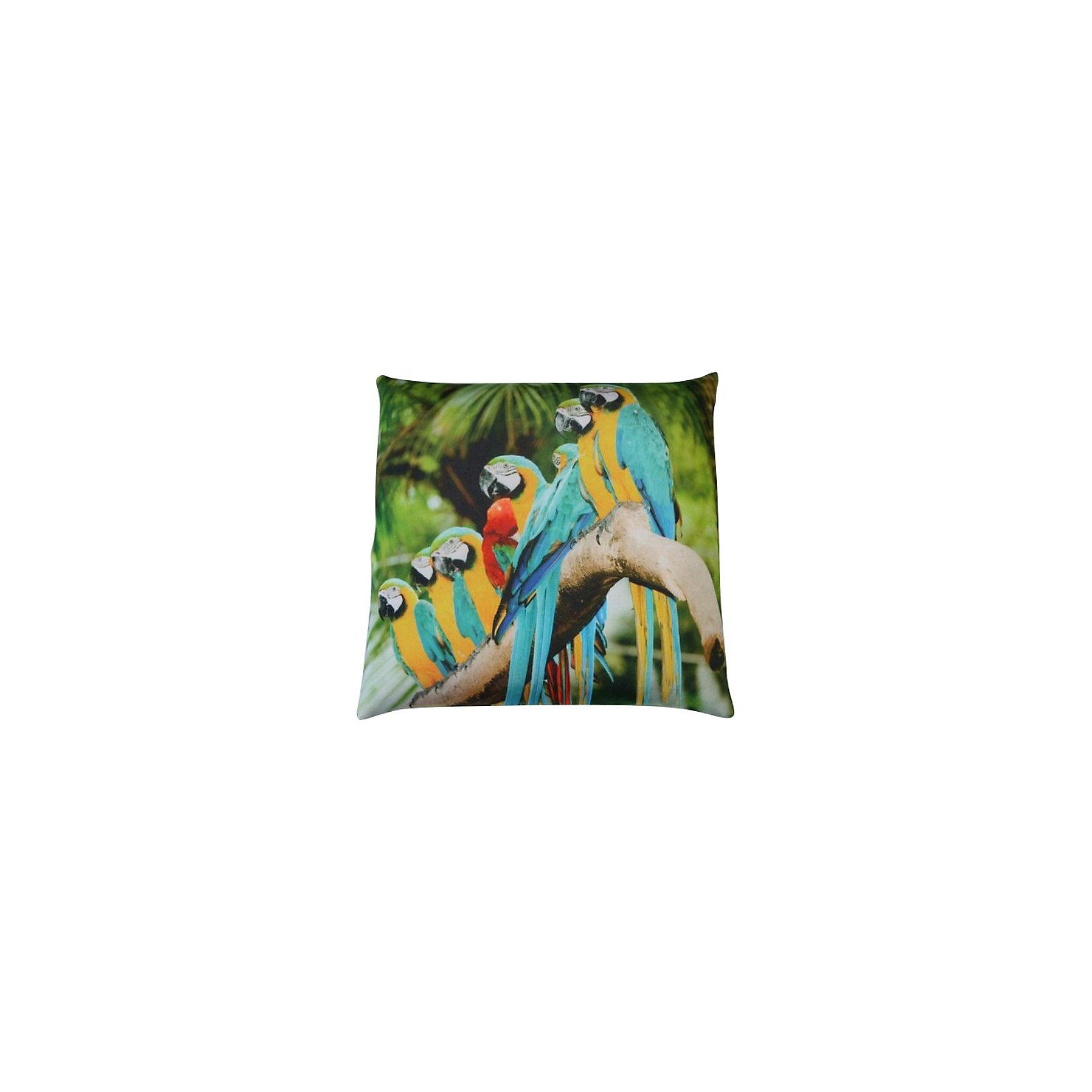 Подушка-антистресс «Тропики» 35*35, СмолТойс