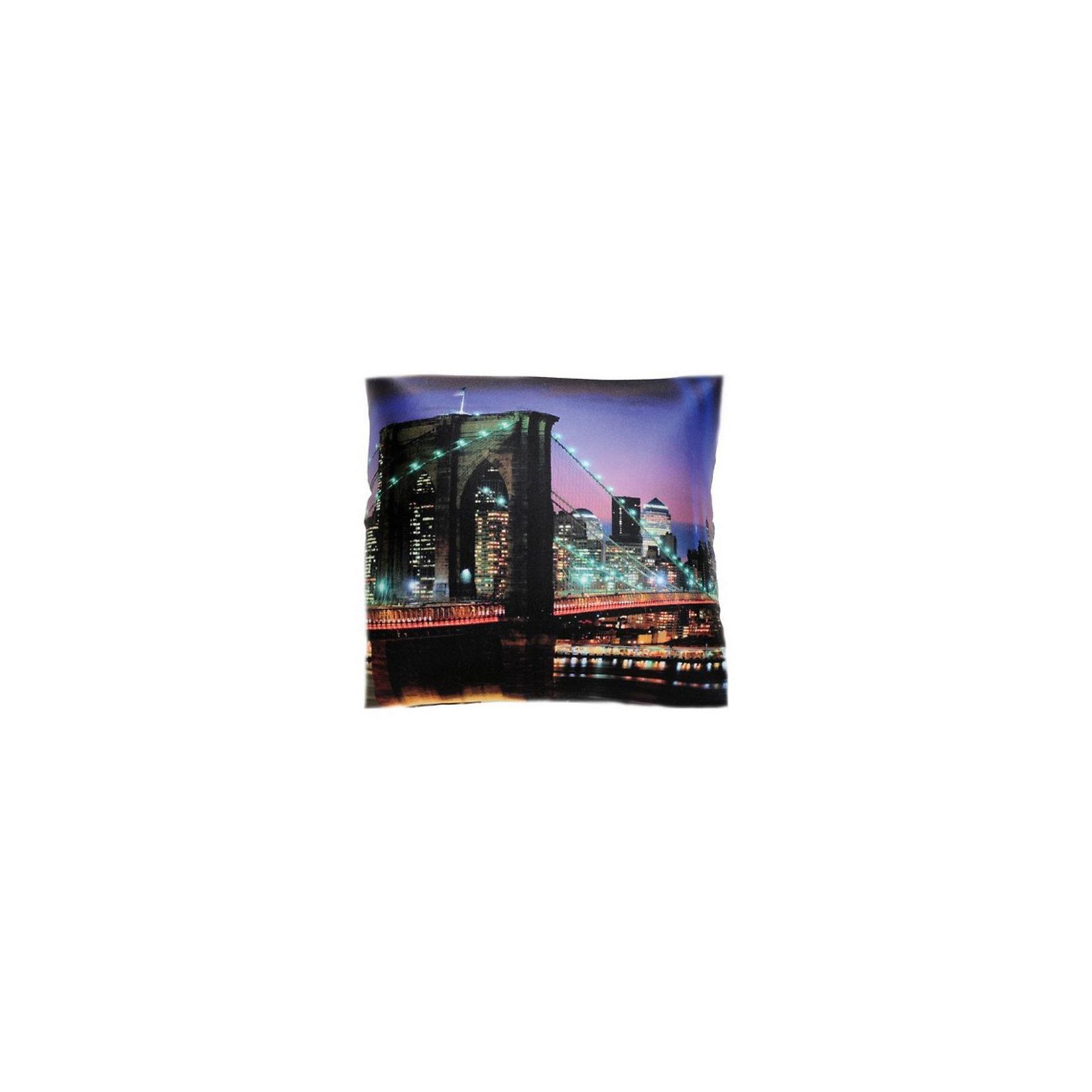 Подушка-антистресс «Ночной город» 35*35, СмолТойс