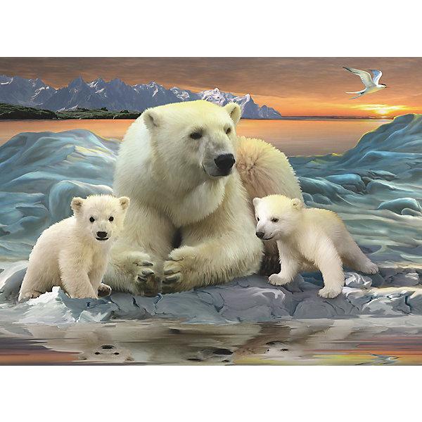 Пазл «Полярные медведи» XXL 200 деталей, RavensburgerПазлы классические<br>Пазл «Полярные медведи» XXL 200 деталей, Ravensburger (Равенсбургер) – это великолепный подарок, как для ребенка, так и для взрослого.<br>Пазл Ravensburger Полярные медведи, без сомнения, придется по душе вашему ребенку. Собрав этот пазл, он получит великолепную картину с изображением белых медведей. Собирая картинку, ребенок развивает логическое мышление, воображение, мелкую моторику и умение принимать самостоятельные решения. Пазлы Ravensburger неповторимы и уникальны тем, что для их изготовления используется картон наивысшего класса, благодаря которому сложенные головоломки не сгибаются, сам картон не отделяется от картинки, а сложенная картинка представляется абсолютно плоской и не деформируется даже спустя время. Прочные детали не ломаются. Каждая деталь имеет свою форму и подходит только на своё место. Матовая поверхность исключает неприятные отблески. Изготовлено из экологического сырья.<br><br>Дополнительная информация:<br><br>- Количество деталей: 200<br>- Размер картинки: 36х49 см.<br>- Материал: прочный картон<br>- Размер коробки: 34 x 4 x 23 см.<br><br>Пазл «Полярные медведи» XXL 200 деталей, Ravensburger (Равенсбургер) можно купить в нашем интернет-магазине.<br><br>Ширина мм: 340<br>Глубина мм: 40<br>Высота мм: 230<br>Вес г: 571<br>Возраст от месяцев: 96<br>Возраст до месяцев: 168<br>Пол: Унисекс<br>Возраст: Детский<br>Количество деталей: 200<br>SKU: 3894981