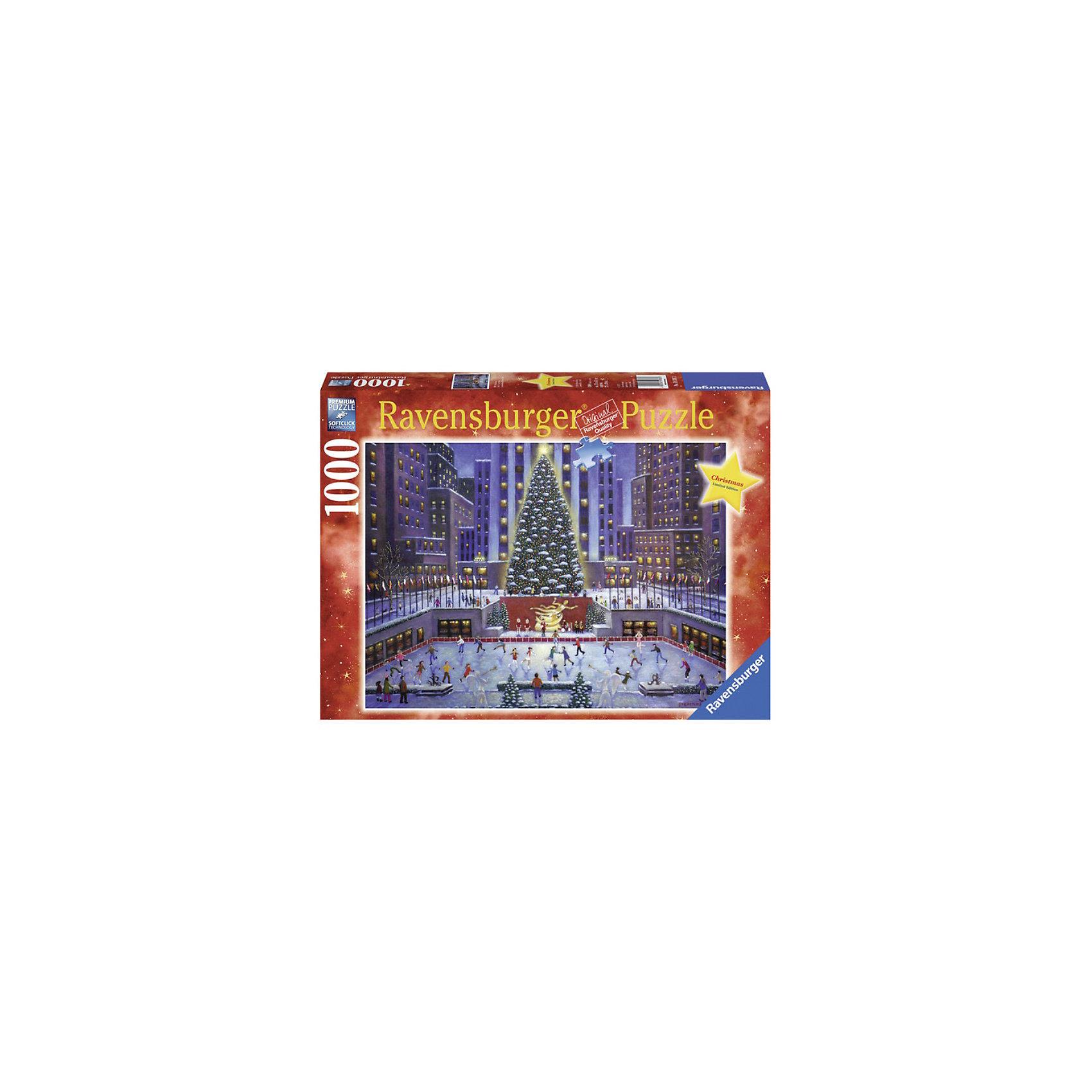 Пазл Рождество 1000 деталей, RavensburgerПазл Рождество 1000 деталей, Ravensburger (Равенсбургер) – это великолепный подарок, как для ребенка, так и для взрослого.<br>Большой увлекательный пазл Рождество Ravensburger объединит всю семью за интересным занятием, подарит новогоднее настроение. Пазлы Ravensburger – это не только яркие, интересные изображения, но и высочайшее качество продукции. Каждый пазл фирмы Ravensburger изготовлен и упакован с большой тщательностью. Особенности пазлов  Ravensburger: отсутствие двух одинаковых деталей; части пазла идеально соединяются; матовая поверхность исключает неприятные отблески; прочные детали не ломаются; изготовлены из экологического сырья.<br><br>Дополнительная информация:<br><br>- Количество деталей: 1000<br>- Размер картинки: 70х50 см.<br>- Материал: картон<br>- Размер коробки: 37 x 5,5 х 27 см.<br><br>Пазл Рождество 1000 деталей, Ravensburger (Равенсбургер) можно купить в нашем интернет-магазине.<br><br>Ширина мм: 0<br>Глубина мм: 0<br>Высота мм: 0<br>Вес г: 0<br>Возраст от месяцев: 168<br>Возраст до месяцев: 216<br>Пол: Унисекс<br>Возраст: Детский<br>Количество деталей: 1000<br>SKU: 3894996