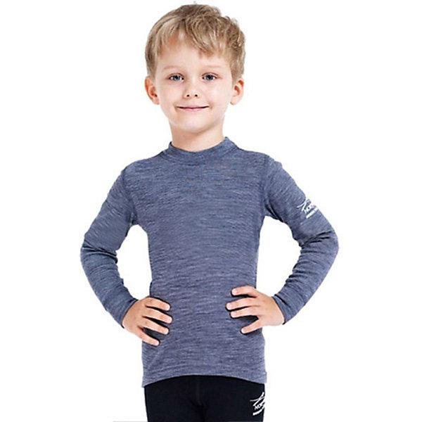 Водолазка для мальчика NorvegФлис и термобелье<br>Водолазка от известного бренда Norveg<br><br>Термоводолазка Norveg Soft City Style от немецкой компании Norveg (Норвег) - это удобная и красивая одежда, которая обеспечит комфортную терморегуляцию тела и на улице, и в помещении. <br>Она сделана из шерсти мериноса (австралийской тонкорунной овцы), которая обладает гипоаллергенными свойствами, поэтому не вызывает раздражения, даже если надета на голое тело.<br><br>Отличительные особенности модели:<br><br>- цвет: серый;<br>- швы плоские, не натирают и не мешают движению;<br>- анатомические резинки;<br>- материал впитывает влагу и сразу выводит наружу;<br>- анатомический крой;<br>- подходит и мальчикам, и девочкам;<br>- не мешает под одеждой.<br><br>Дополнительная информация:<br><br>- Температурный режим: от - 20° С  до +20° С.<br><br>- Состав: 100% шерсть мериноса<br><br>Водолазку Norveg (Норвег) можно купить в нашем магазине.<br><br>Ширина мм: 230<br>Глубина мм: 40<br>Высота мм: 220<br>Вес г: 250<br>Цвет: серый<br>Возраст от месяцев: 3<br>Возраст до месяцев: 6<br>Пол: Мужской<br>Возраст: Детский<br>Размер: 68/74,116/122,128/134,104/110,80/86,56/62,92/98<br>SKU: 3895062