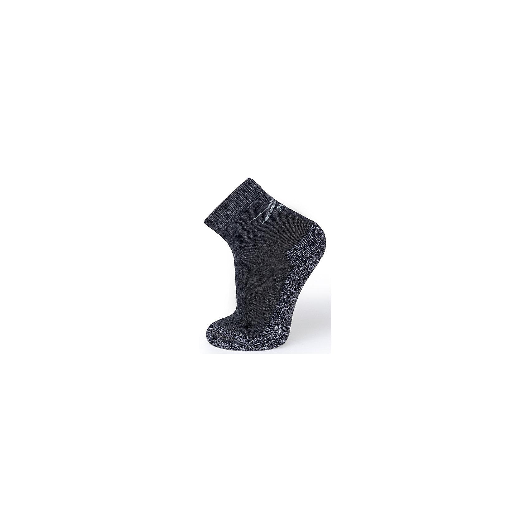 Термоноски NorvegТермноски от известного бренда Norveg<br><br>Термоноски Norveg Multifunctional от немецкой компании Norveg (Норвег) - это удобная и красивая одежда, которая обеспечит комфортную терморегуляцию тела и на улице, и в помещении. <br>Они сделаны из шерсти мериноса (австралийской тонкорунной овцы), которая обладает гипоаллергенными свойствами, поэтому не вызывает раздражения, даже если надета на голое тело. Добавление <br>волокна с антибактериальной обработкой Polycolon помогает выводить влагу от тела. Также поликолон мешает загрязнению и повышает износоустойчивость. <br><br>Отличительные особенности модели:<br><br>- цвет: серый;<br>- анатомические резинки;<br>- материал впитывает влагу и сразу выводит наружу;<br>- анатомический крой;<br>- подходит и мальчикам, и девочкам;<br>- дополнительная фиксация в районе свода стопы;<br>- анатомическая пятка;<br>- рельефный плюш: дополнительное утепление и амортизация;<br>- бесшовный мысок.<br><br>Дополнительная информация:<br><br>- Температурный режим: от - 20° С  до +10° С.<br><br>- Состав: 65% шерсть мериносов, 15% полиэстер, 5% эластан, 15% поликолон<br><br>Носки Norveg (Норвег) можно купить в нашем магазине.<br><br>Ширина мм: 87<br>Глубина мм: 10<br>Высота мм: 105<br>Вес г: 115<br>Цвет: серый<br>Возраст от месяцев: 6<br>Возраст до месяцев: 9<br>Пол: Унисекс<br>Возраст: Детский<br>Размер: 27-30,35-38,31-34,23-26,19-22<br>SKU: 3895181